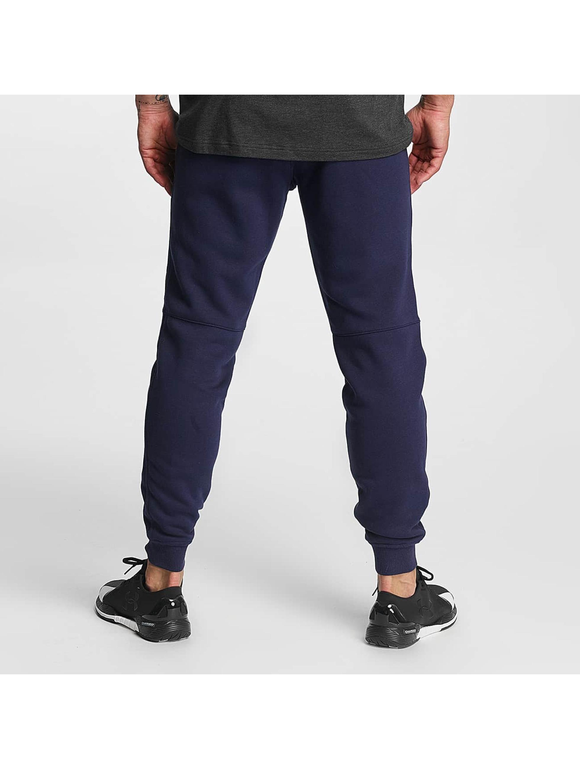 Under Armour Sweat Pant Rival Cotton blue