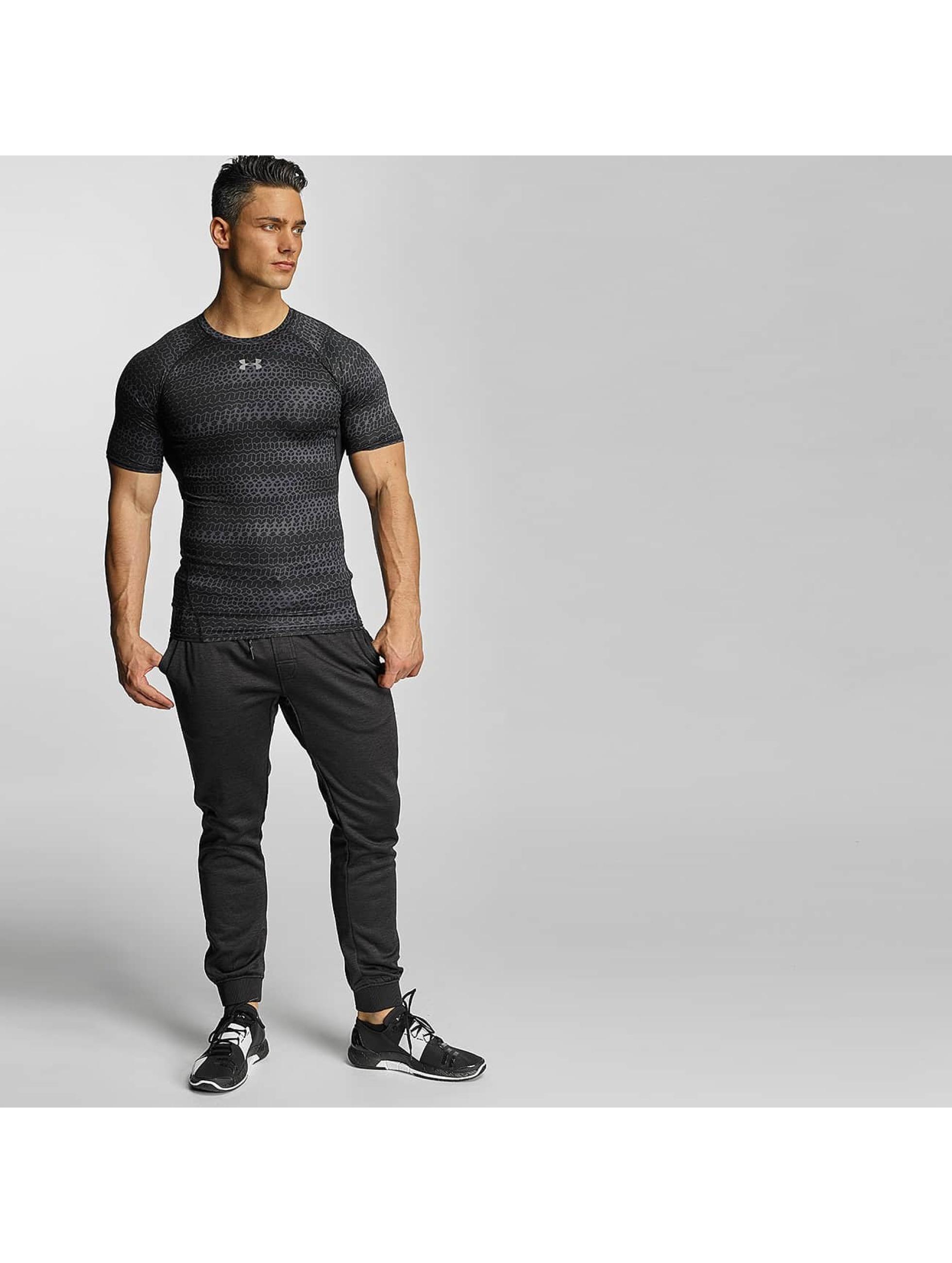 Under Armour T-Shirt Heatgear Printed Shortsleeve Compression black