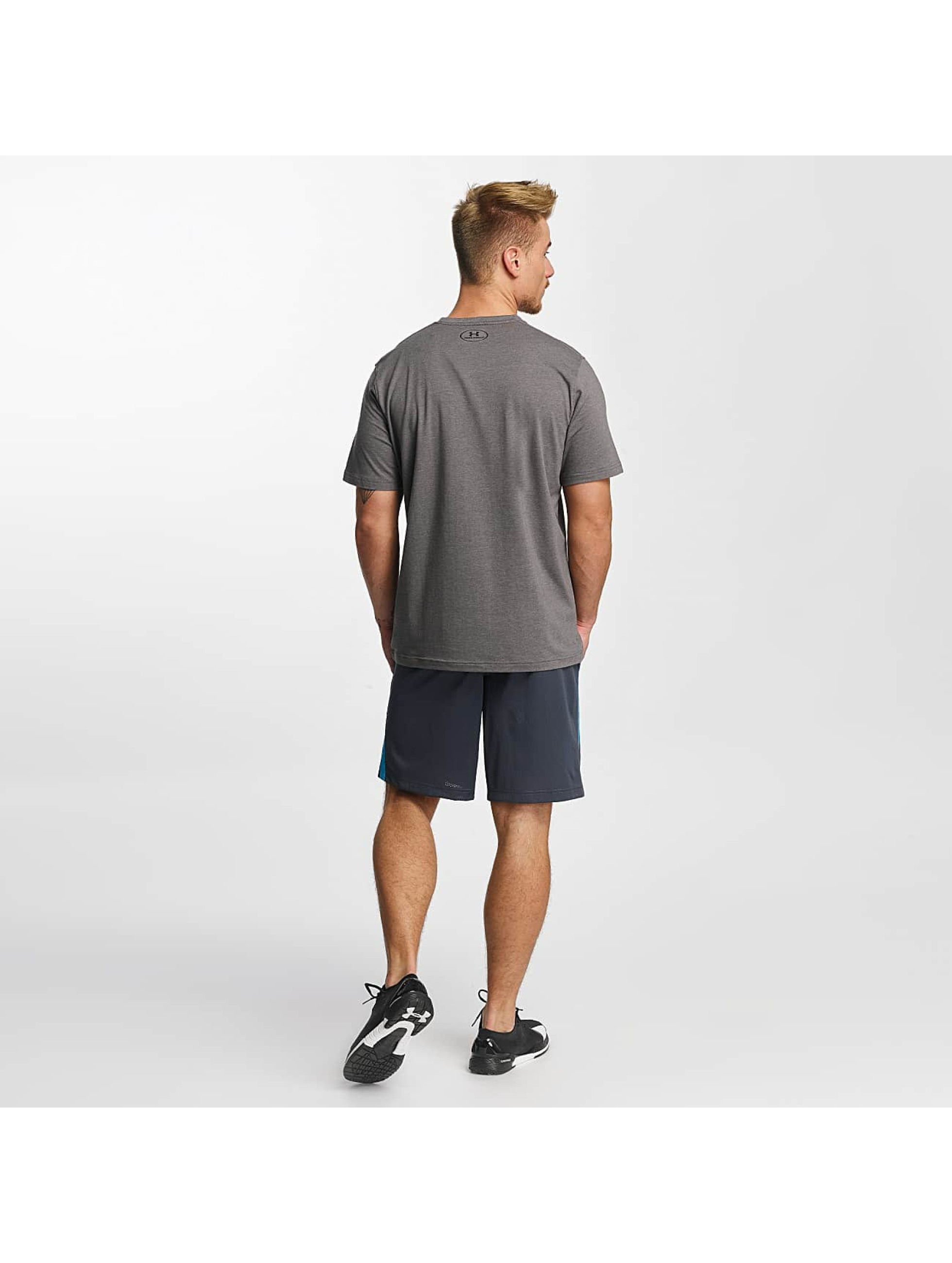 Under Armour T-Shirt Charged Cotton Left Chest Lockup gray