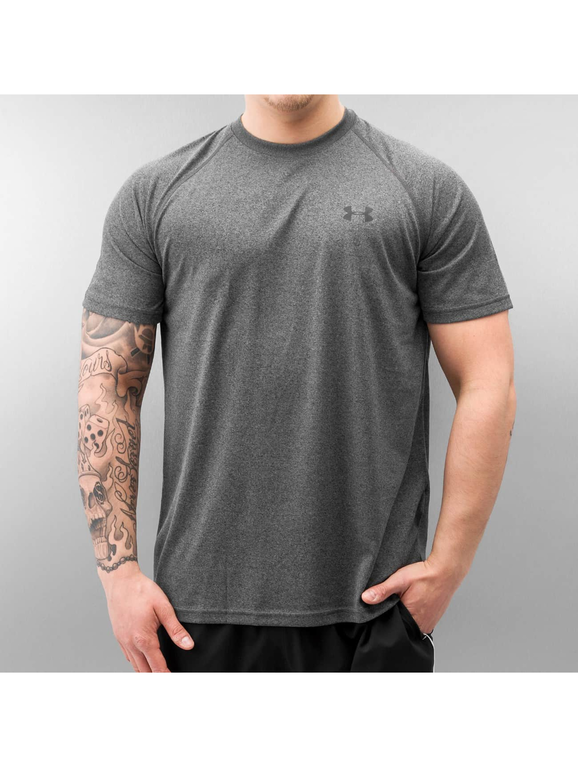 Under armour tech gris homme t shirt 210250 for Original under armour shirt