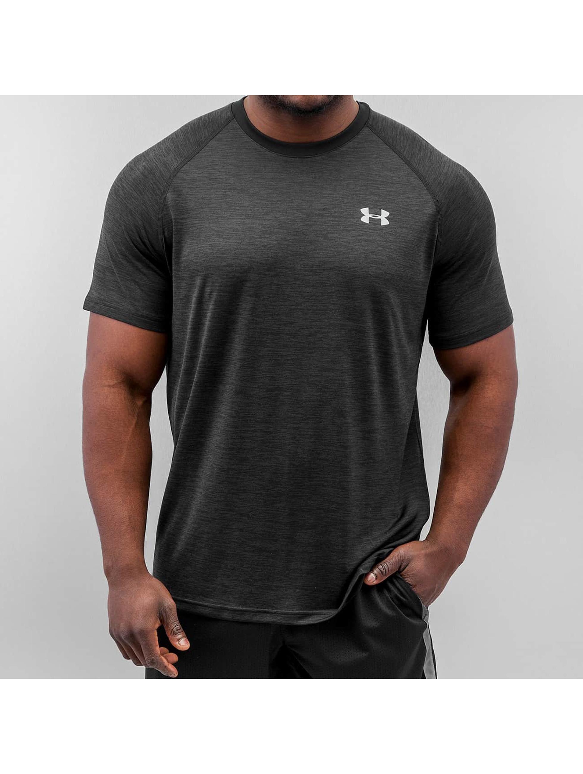 Under armour herren t shirt tech in schwarz 210262 for Original under armour shirt