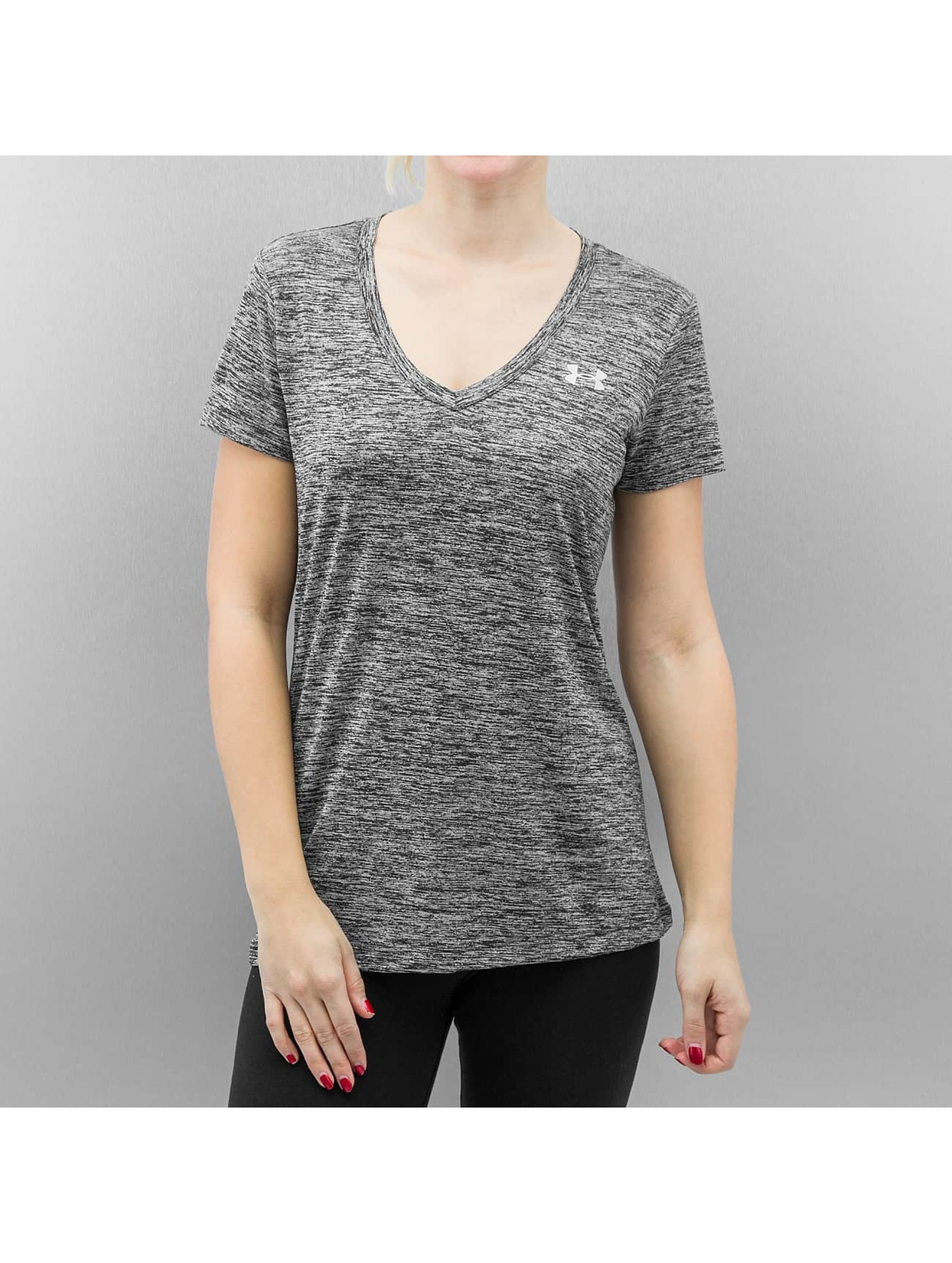 Under armour t shirt twist tech in schwarz 210746 for Original under armour shirt