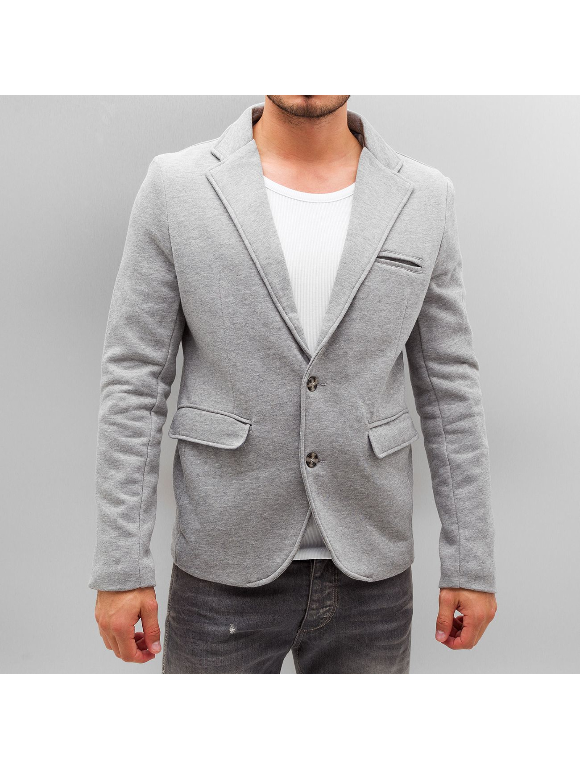 urban classics dressed up gris homme blazer urban. Black Bedroom Furniture Sets. Home Design Ideas