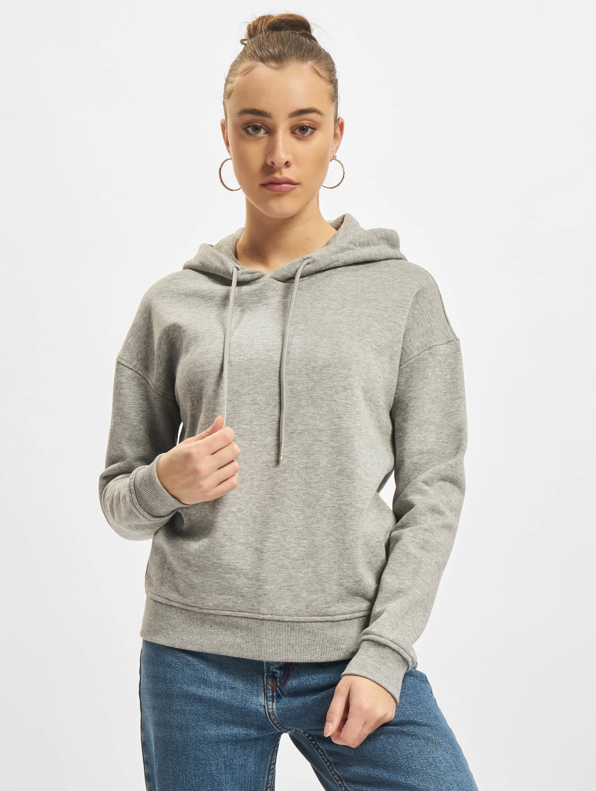 Urban Classics Hoodie Ladies gray