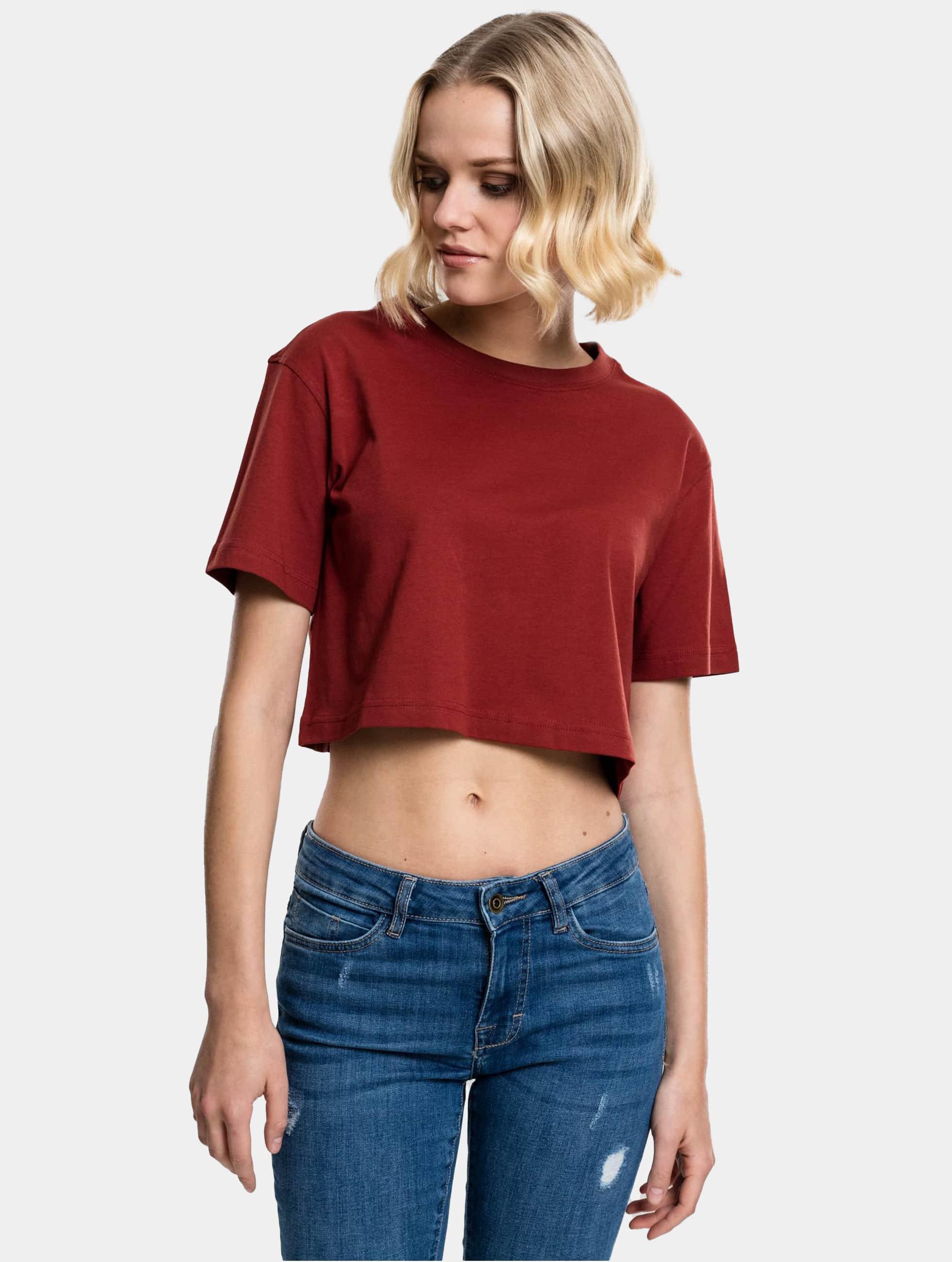 Urban Classics T-Shirt Cropped brown