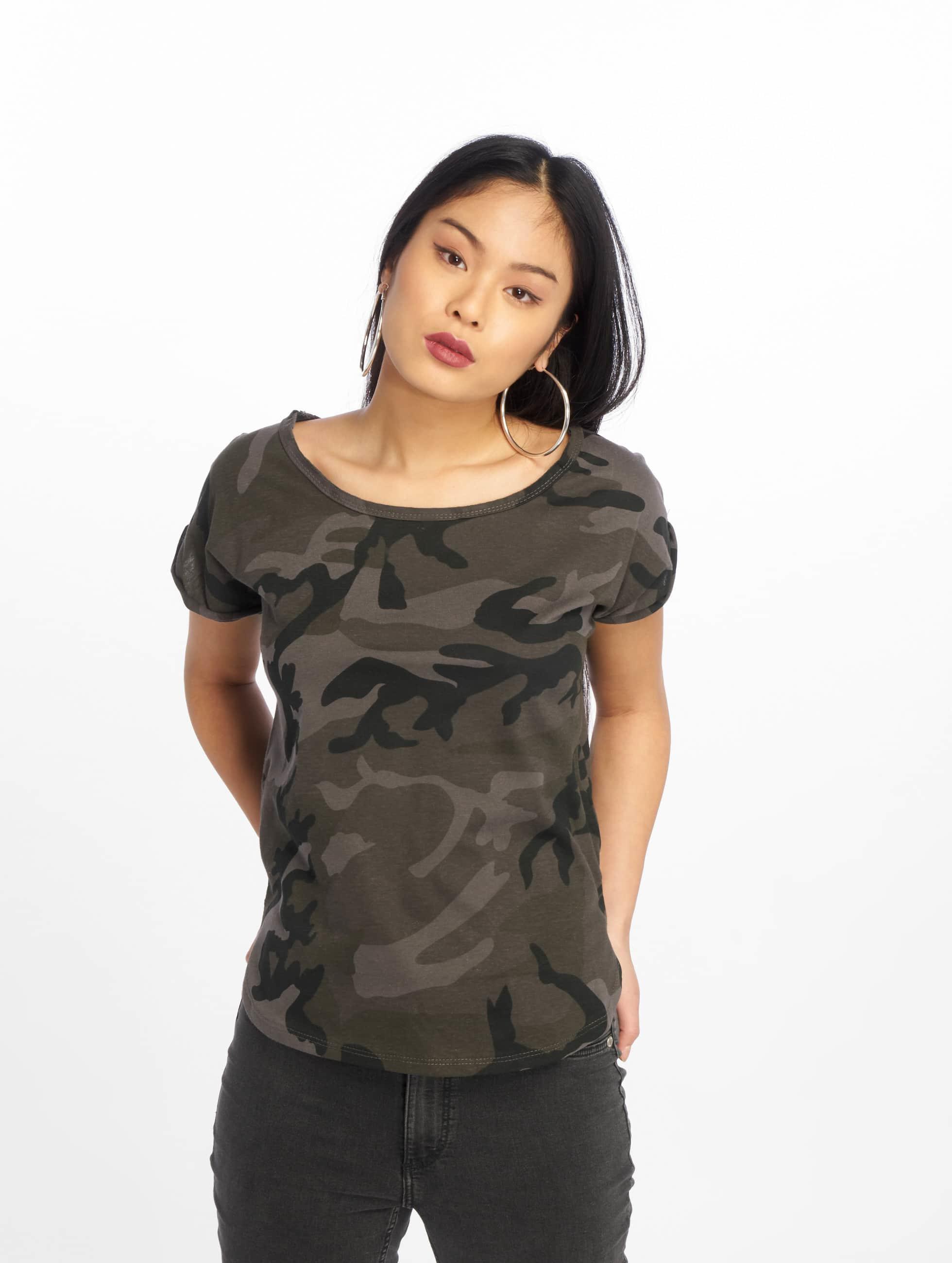 Urban Classics T-Shirt Camo Back Shaped camouflage