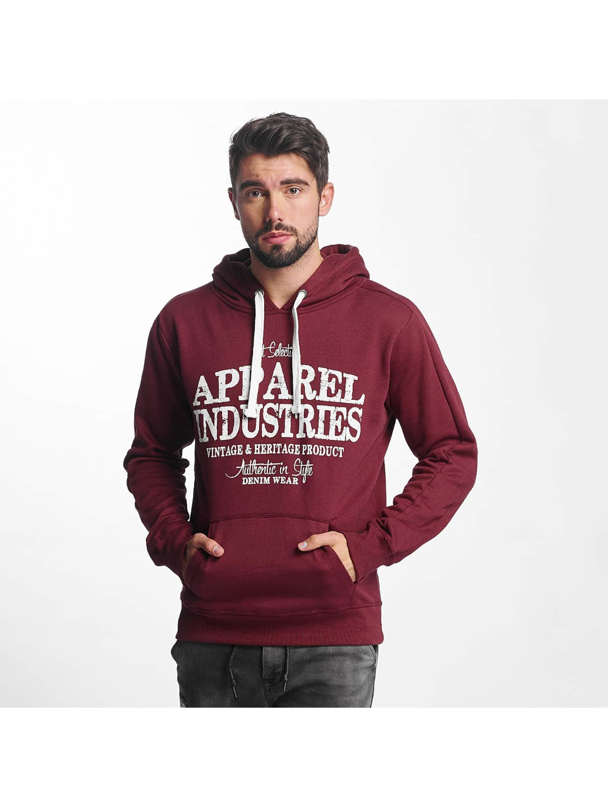 Urban Surface Hoodie AI Roo red