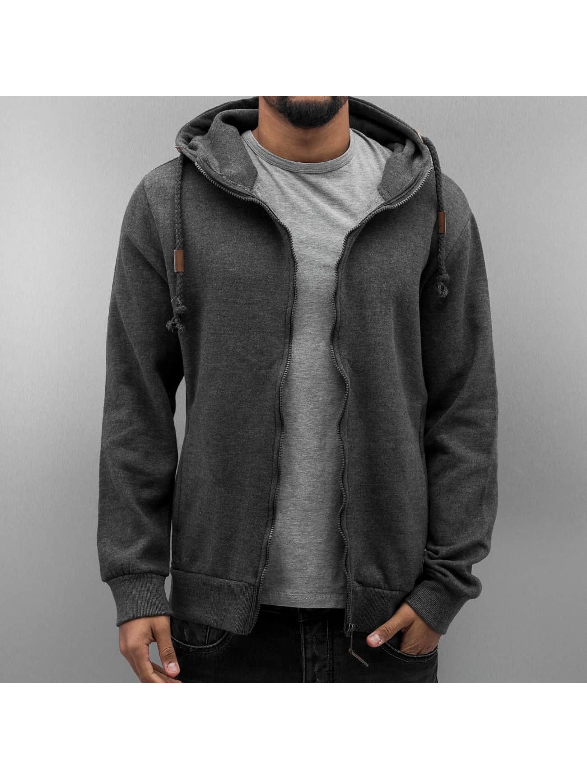 Urban Surface Zip Hoodie Cameron gray