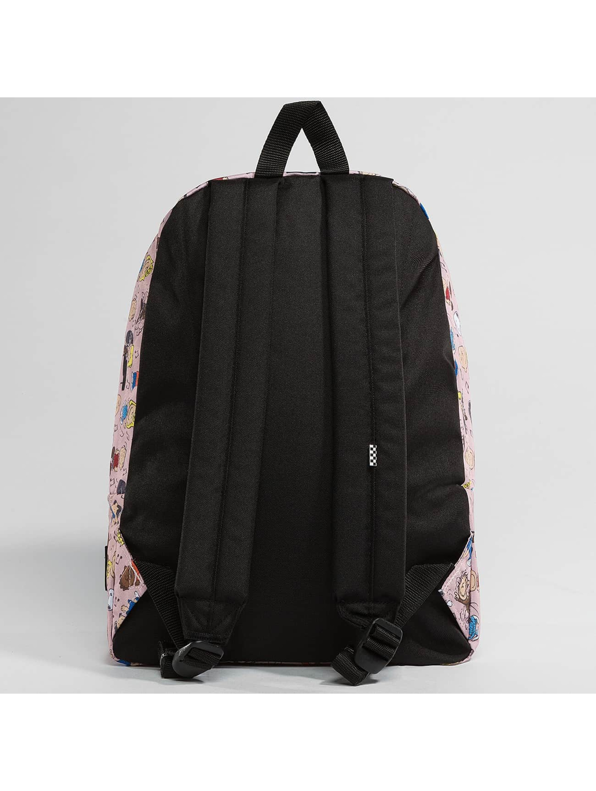 Vans Backpack Peanuts Dance Party Realm pink