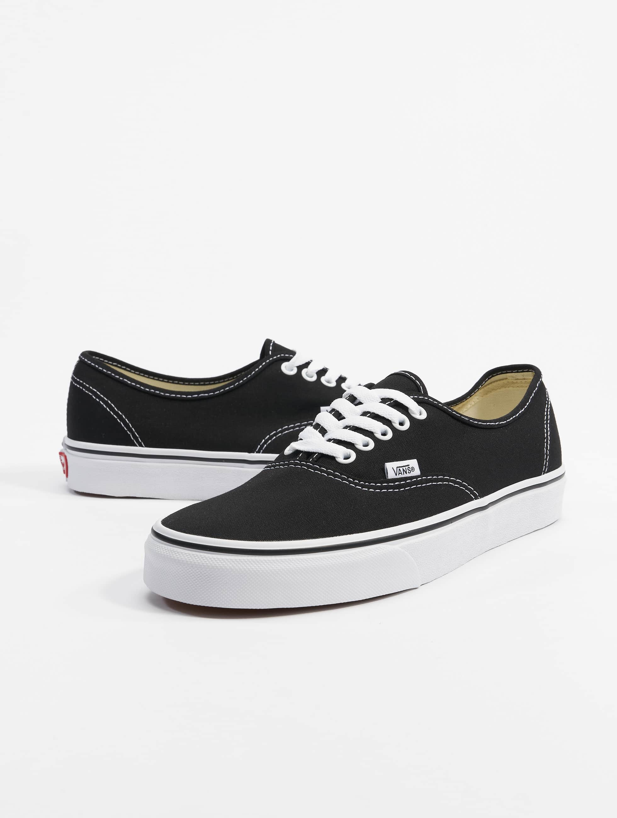 authentic vans schwarz