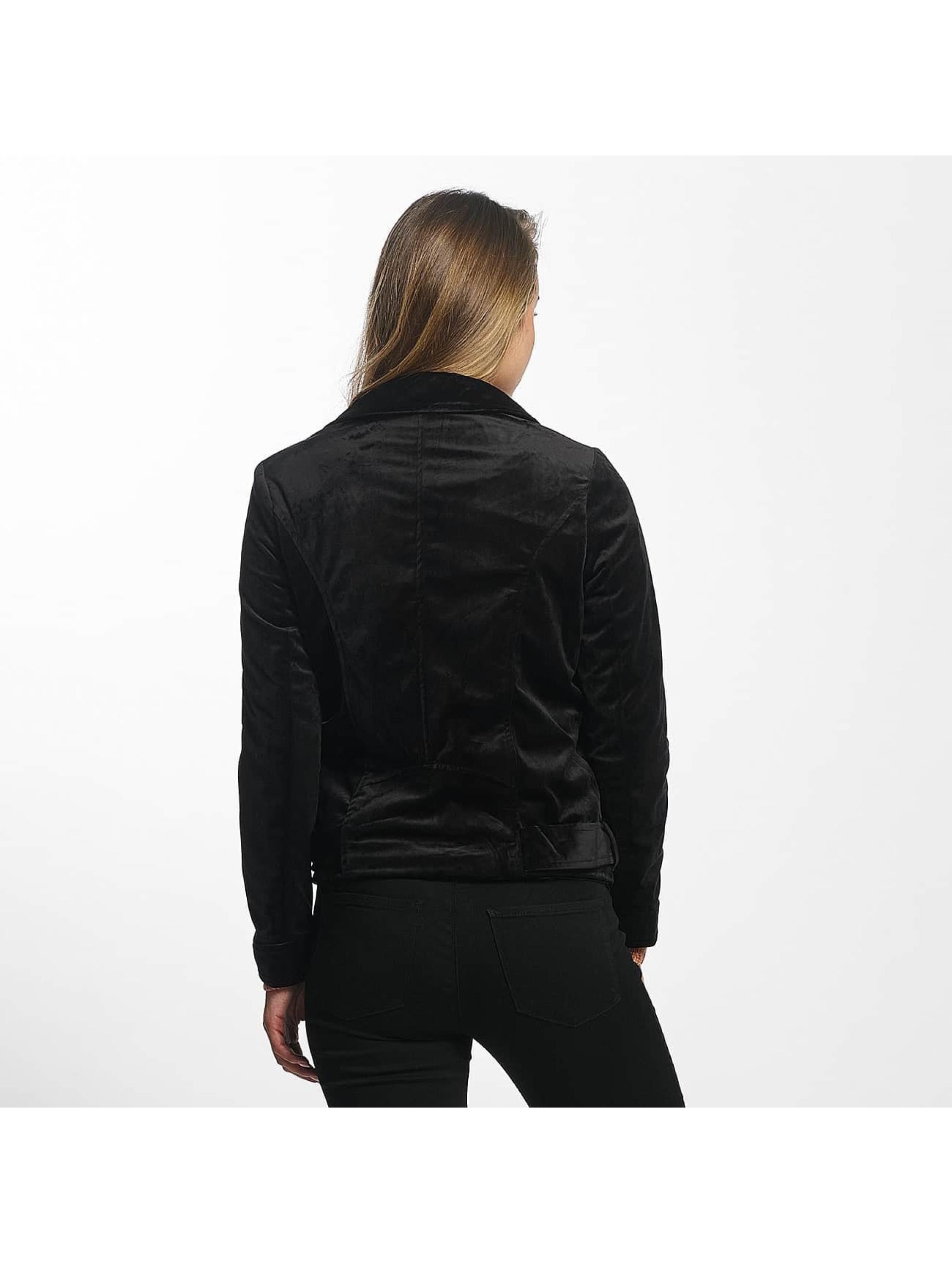 Vero Moda Lightweight Jacket vmOrlon Velvet Short black