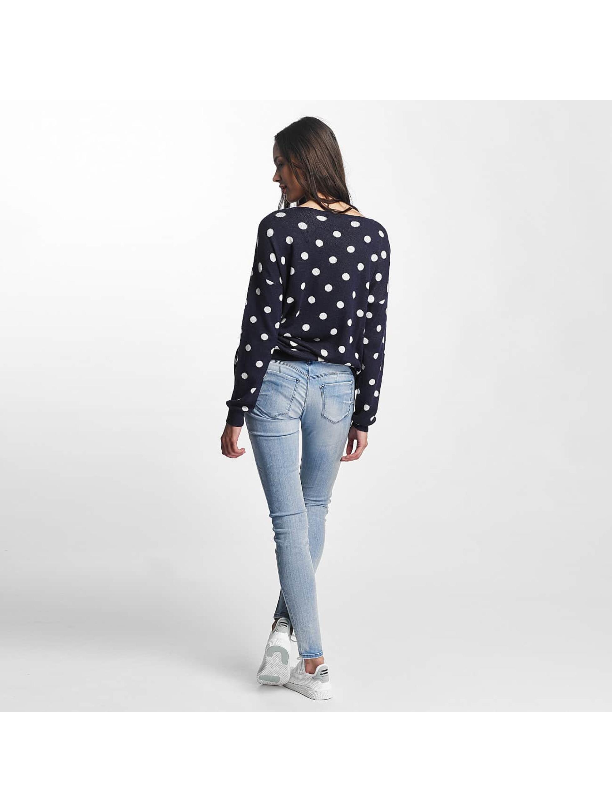 Vero Moda Pullover vmDotty Oversize blue