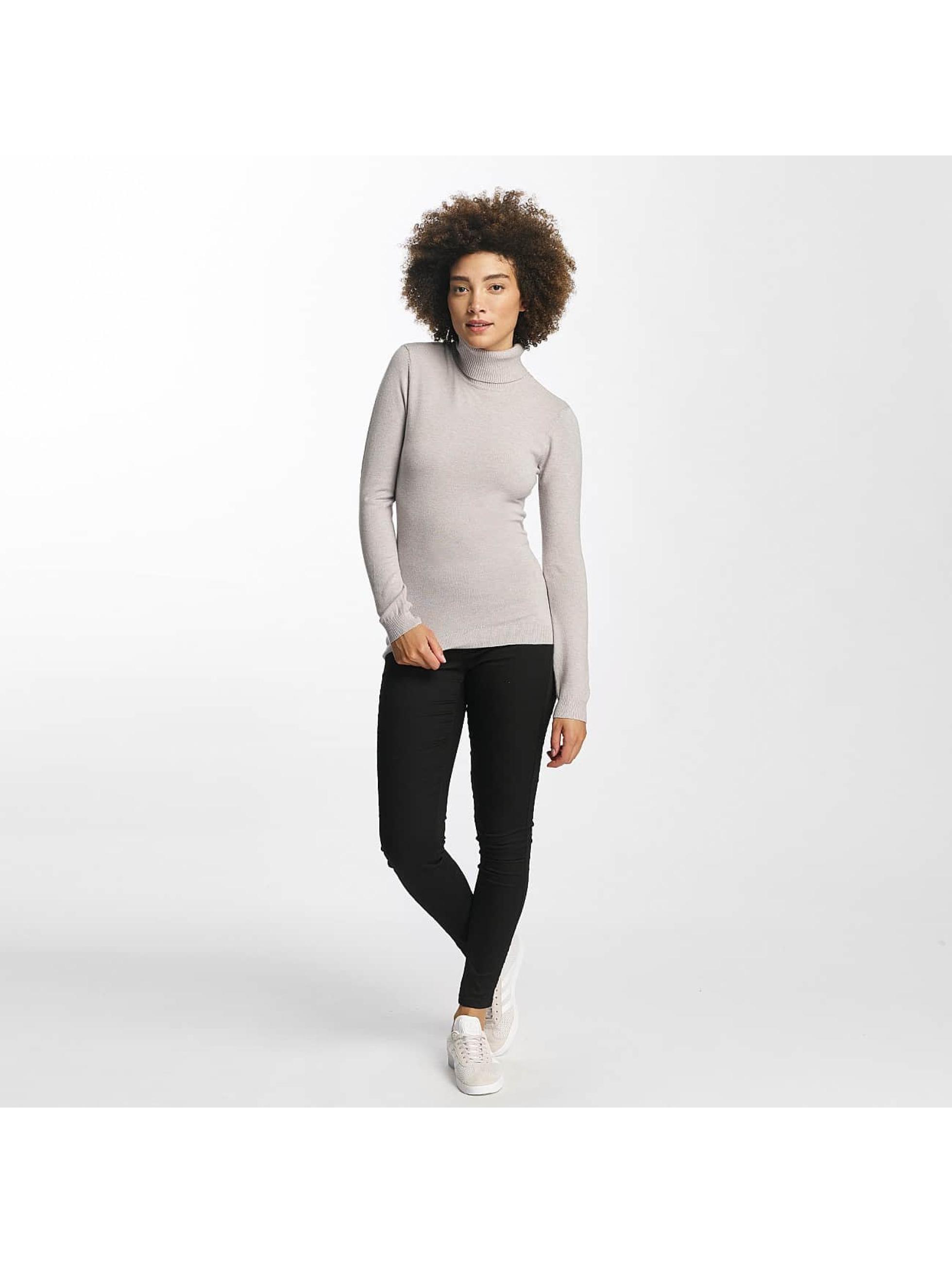 Vero Moda Pullover vmHappy Rollneck gray