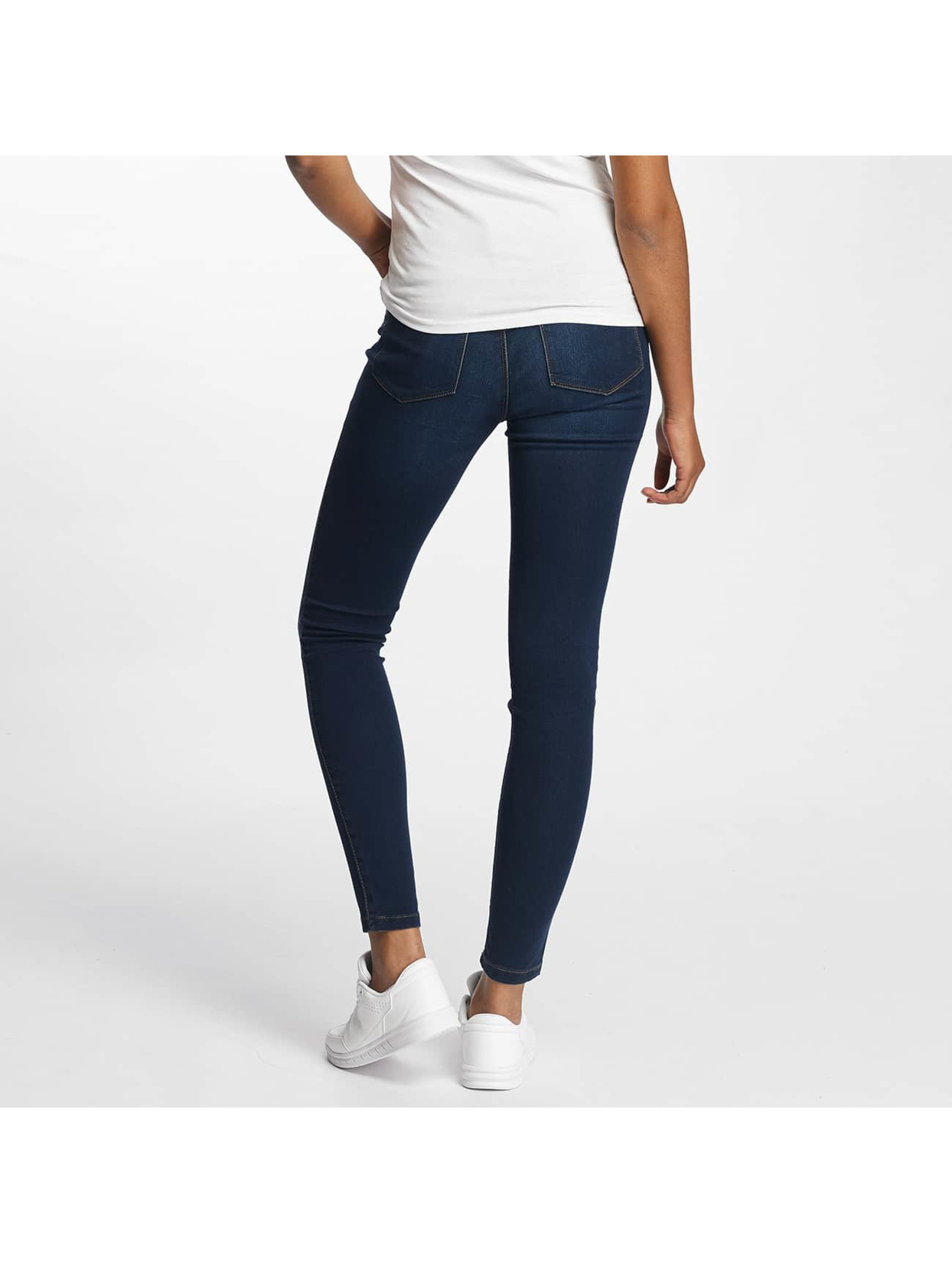 Vero Moda Skinny Jeans vmSeven Shape Up blue