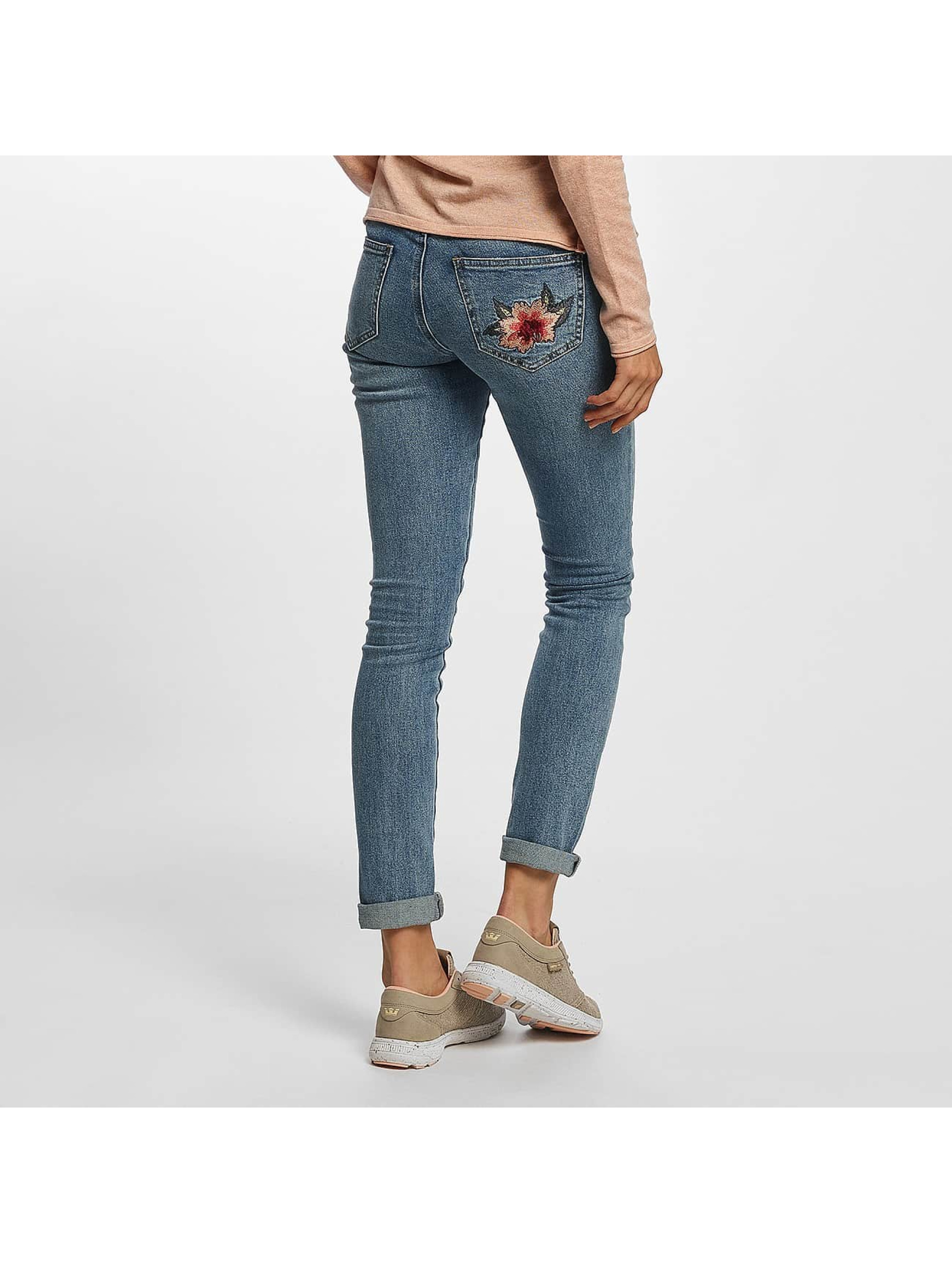 Vero Moda Skinny Jeans vmAdele Cigarette blue