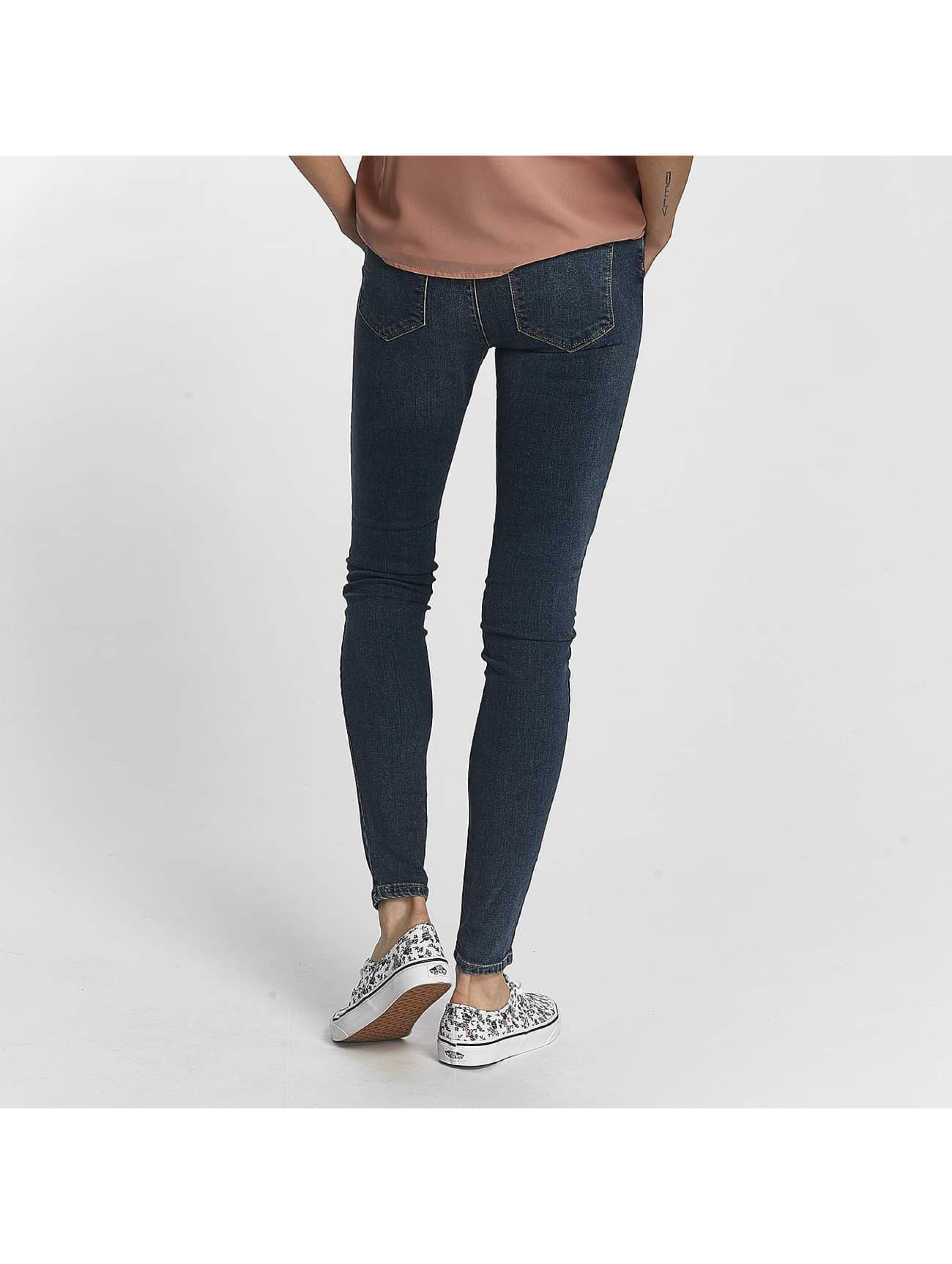 Vero Moda Slim Fit Jeans vmSeven Super Slim blue