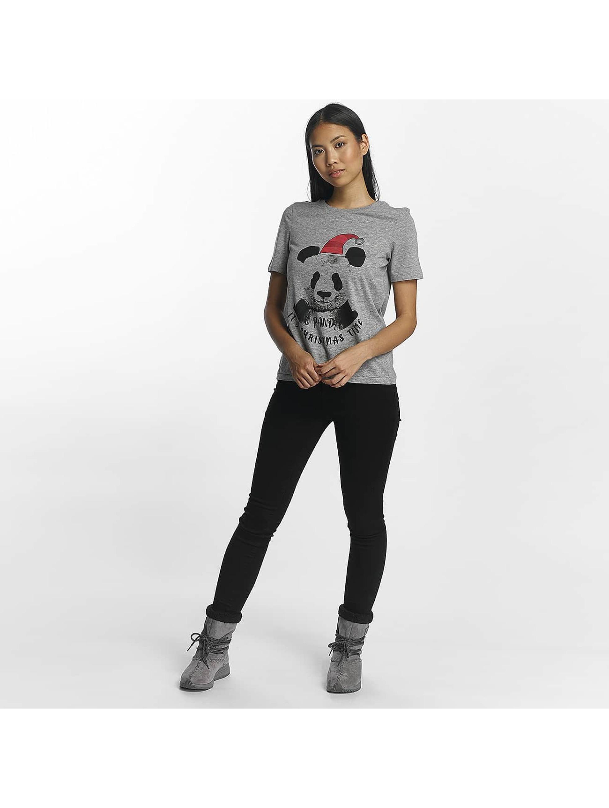 Vero Moda T-Shirt vmPanda gray