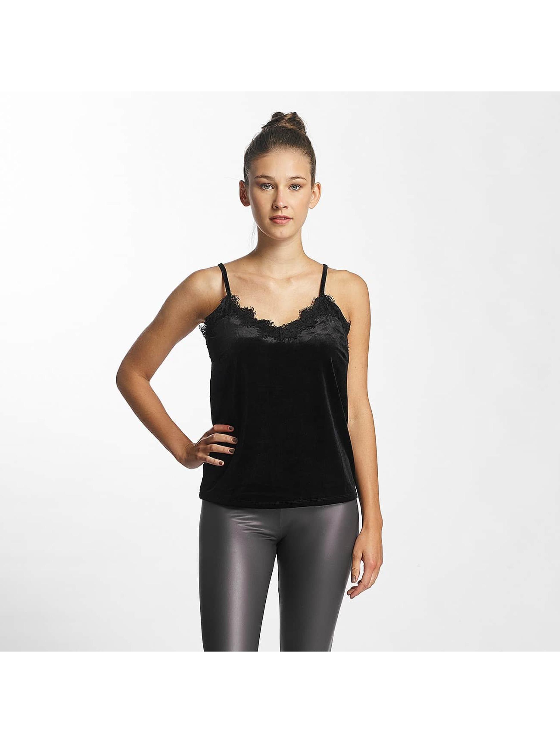 Vero Moda Top vmAnjela Velvet Singlet black