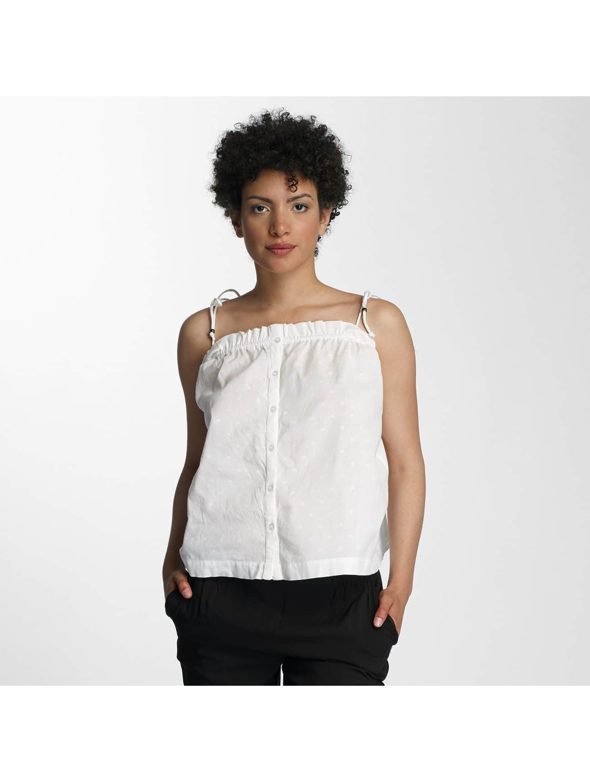 Vero Moda Top vmDot Midi Singlet Denim white