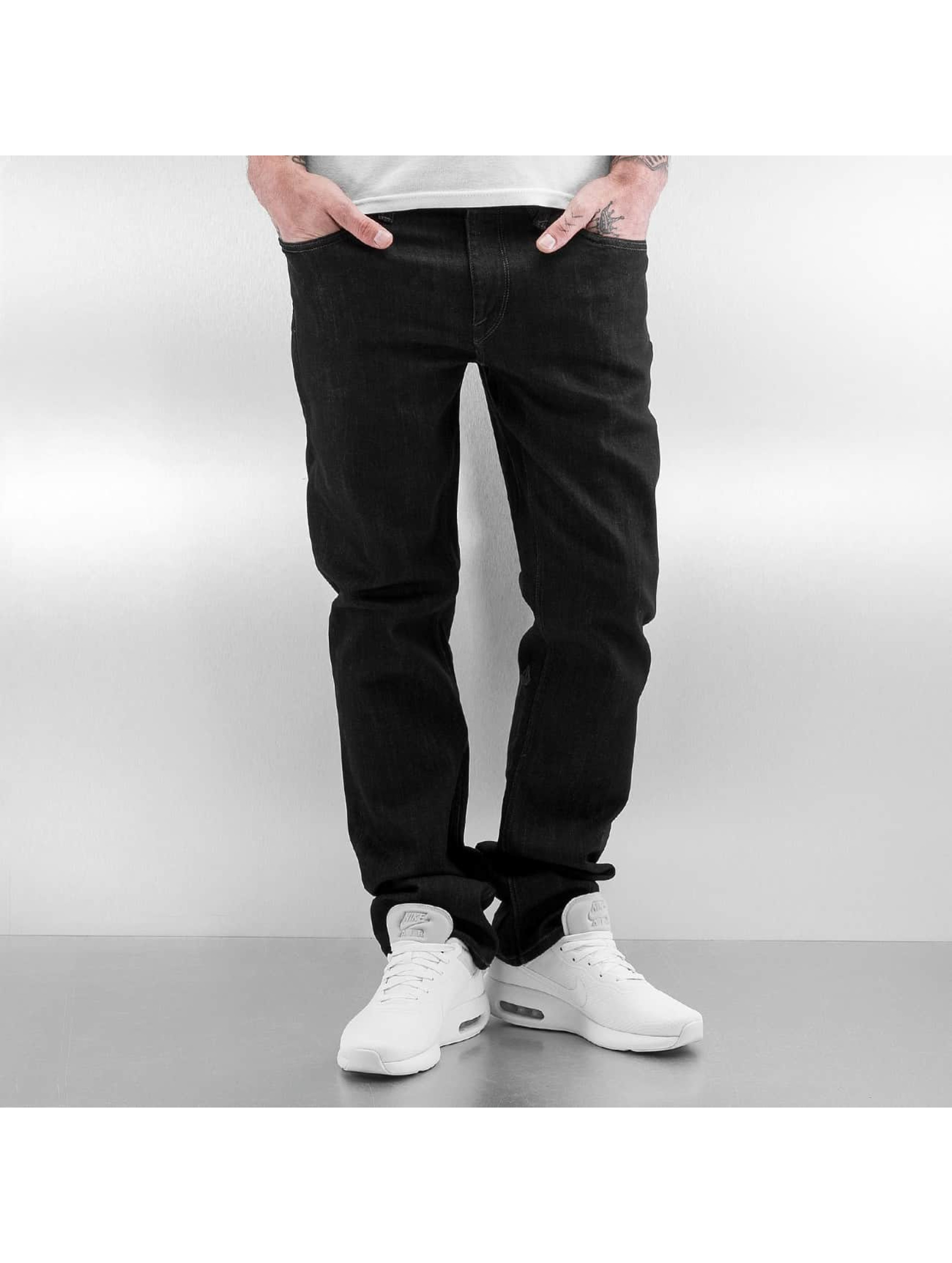 Volcom Straight Fit Jeans Solver black