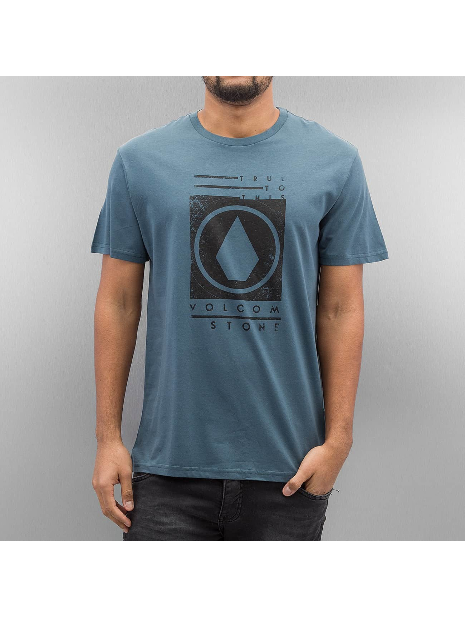 Volcom T-Shirt Stone Stamp blue