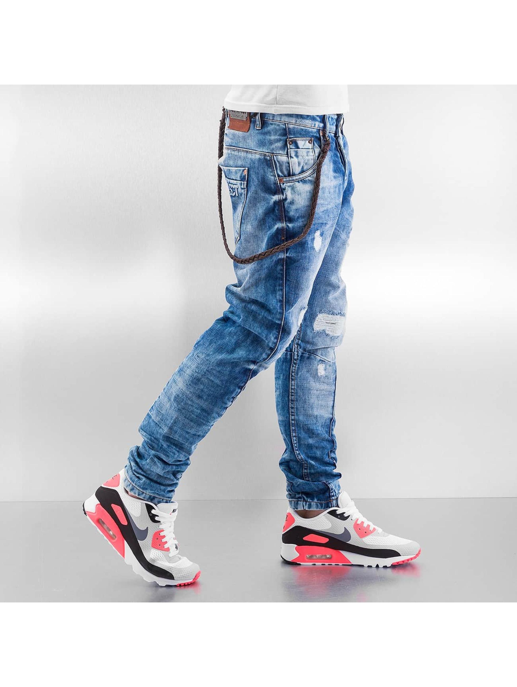 VSCT Clubwear Antifit Hank Acid Slim Twisted blue