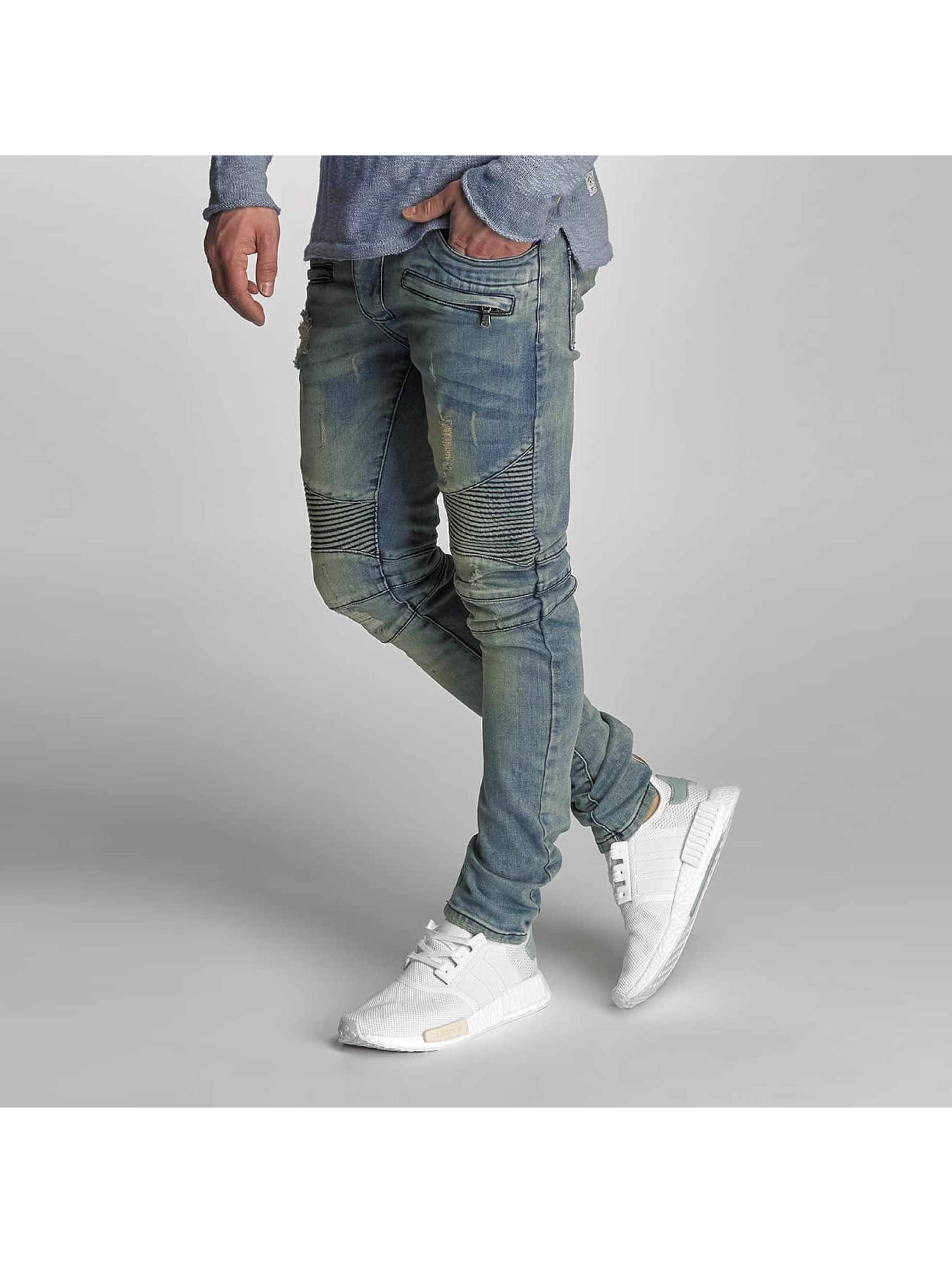 VSCT Clubwear Skinny Jeans Liam Biker blue