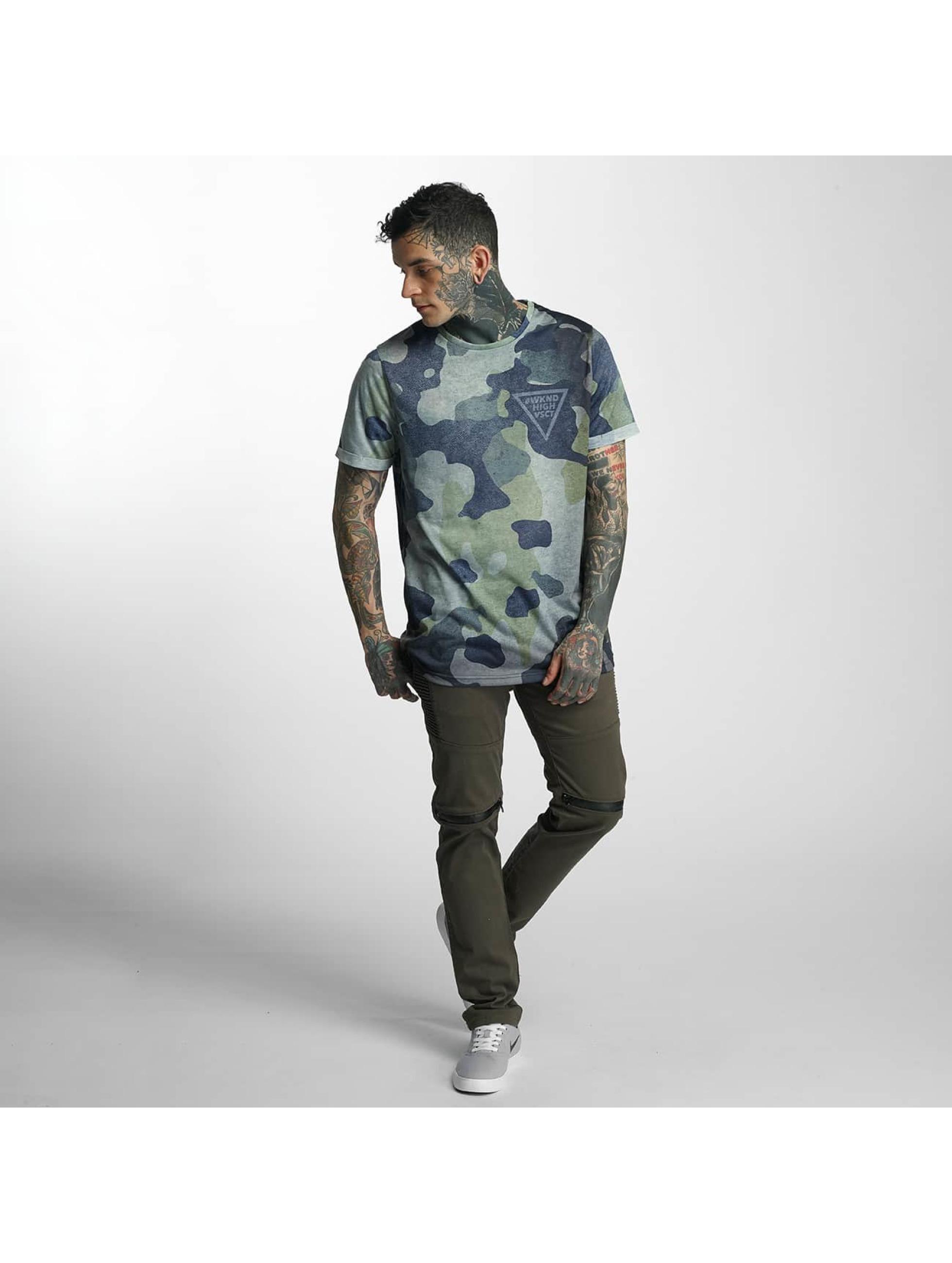 VSCT Clubwear T-Shirt Triangle Logo camouflage