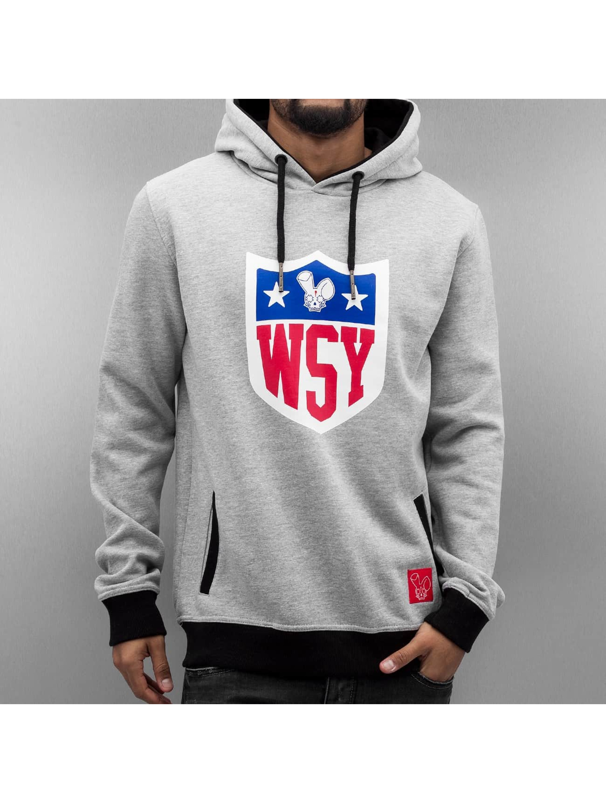 Who Shot Ya? Hoodie Collegebro gray