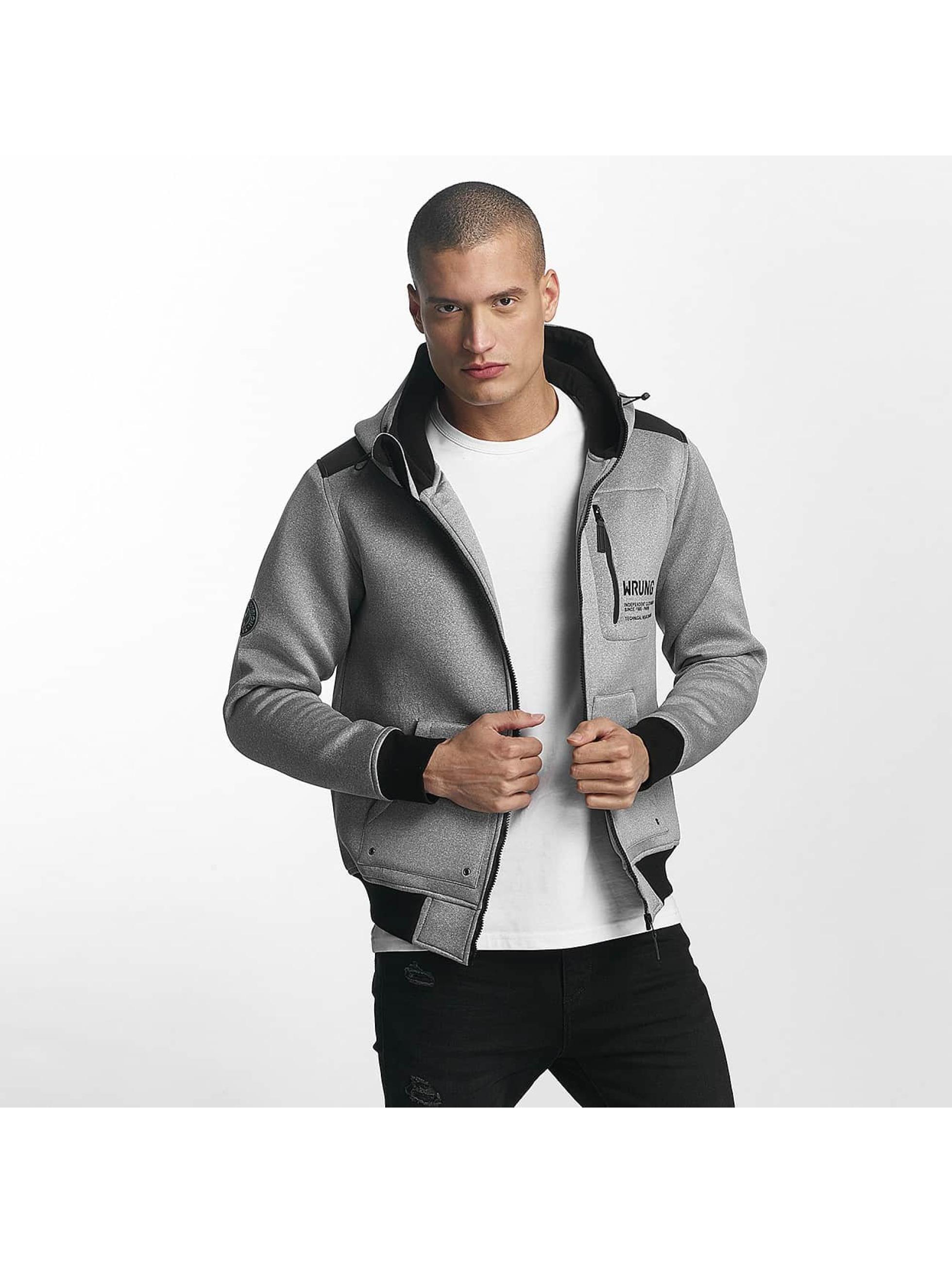 Wrung Division Lightweight Jacket Tekk Winter black