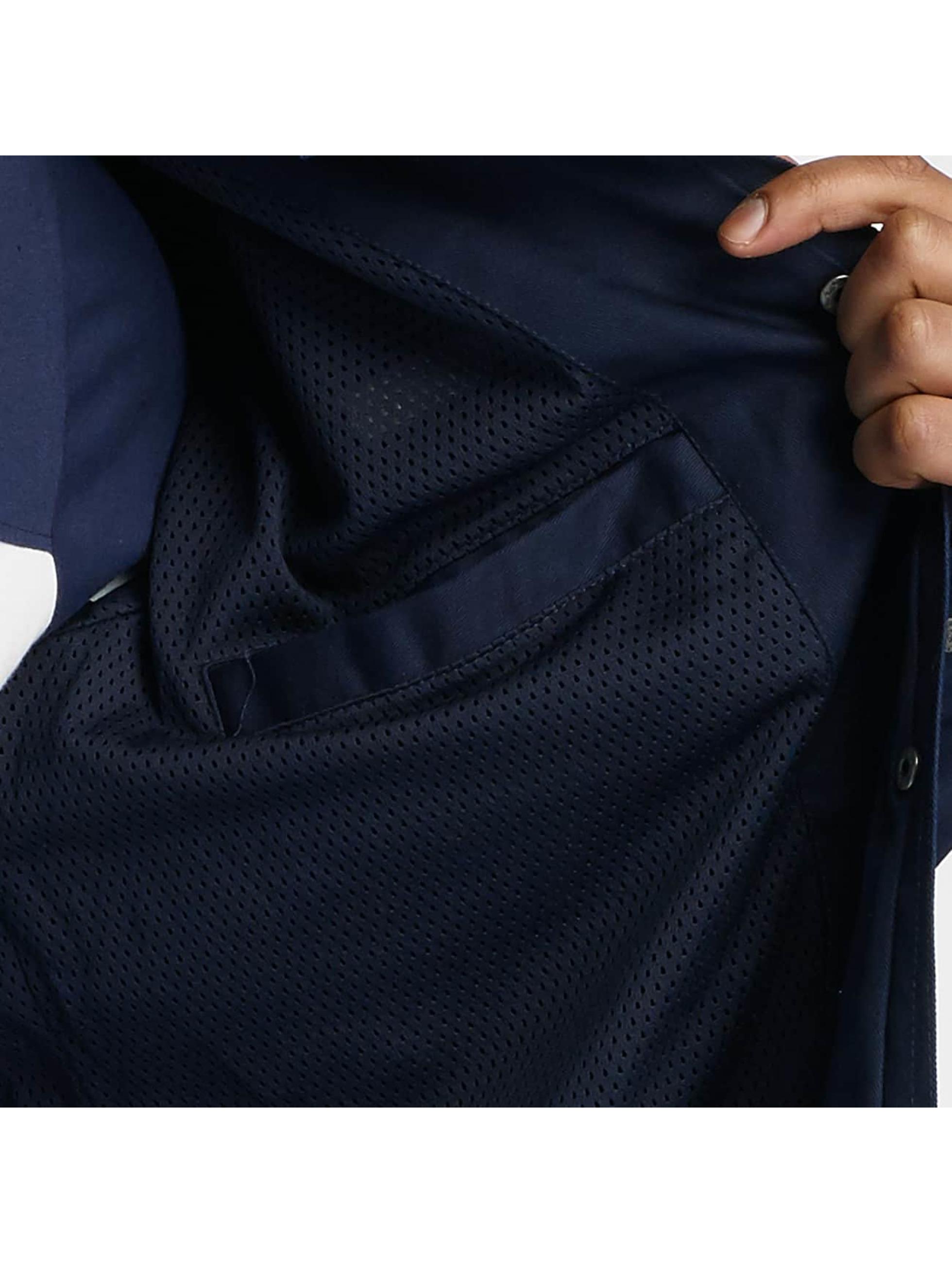 Wrung Division Lightweight Jacket Coach Snap blue