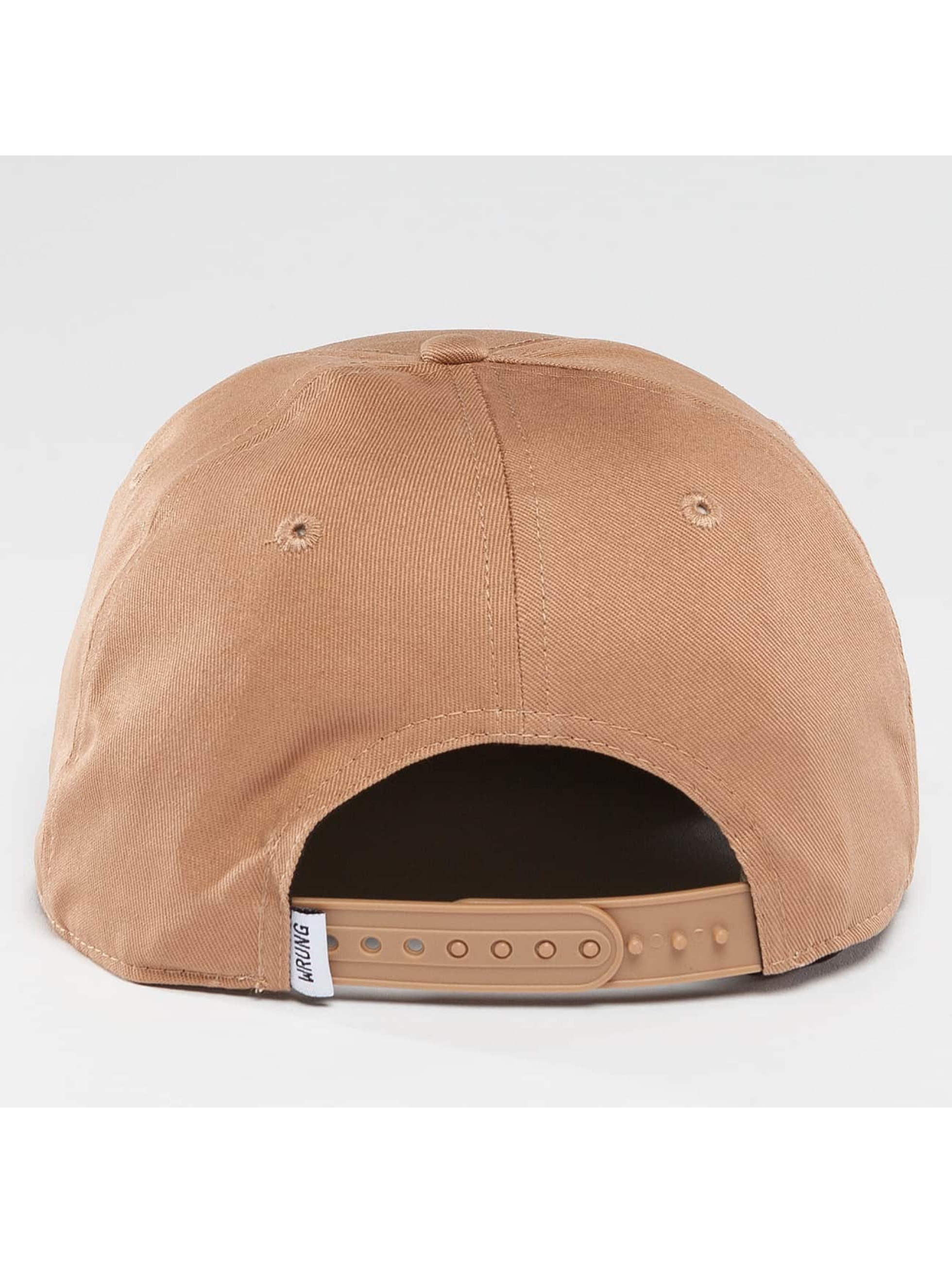 Wrung Division Snapback Cap Box beige