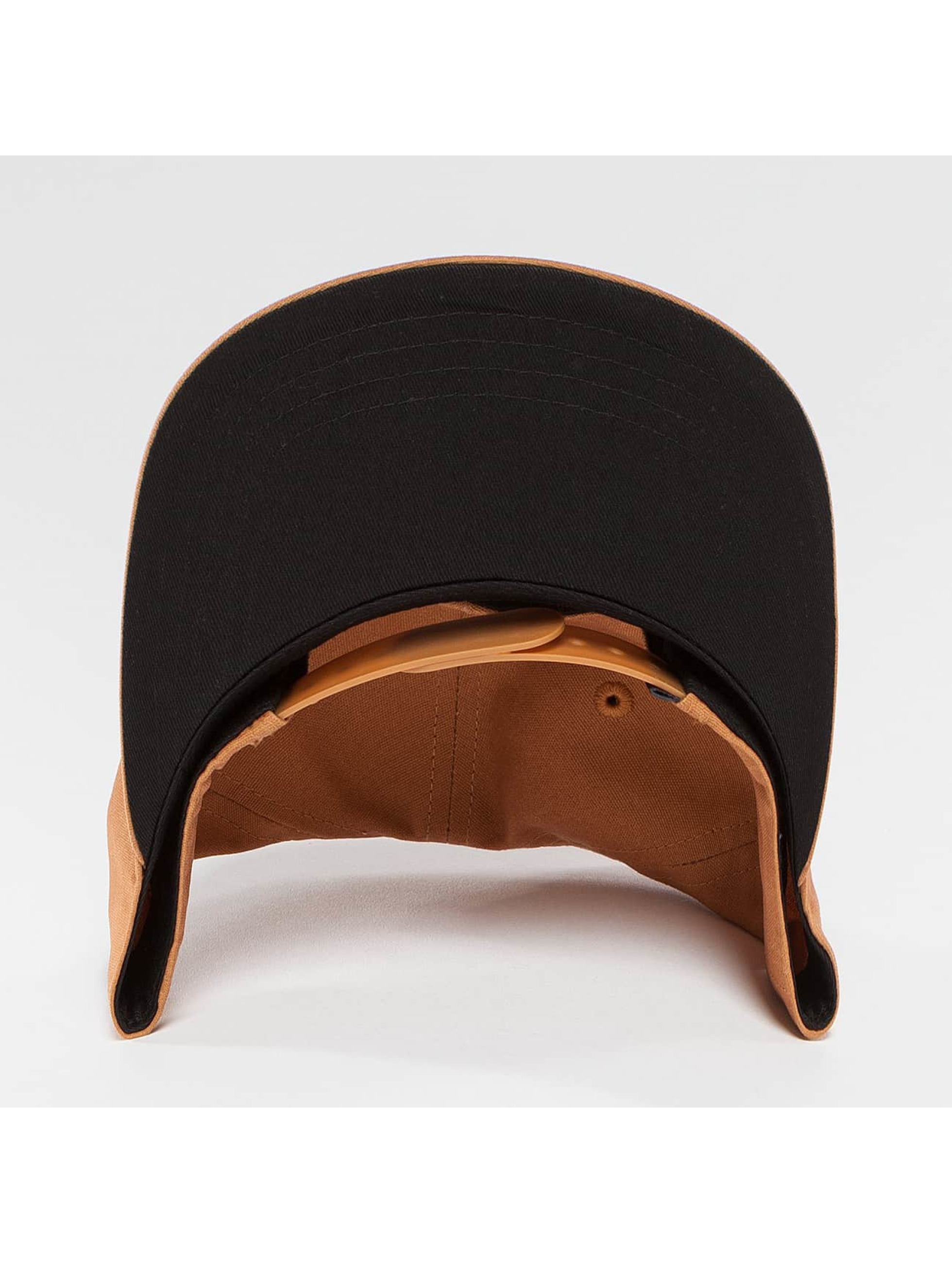 Wrung Division Snapback Cap Work brown