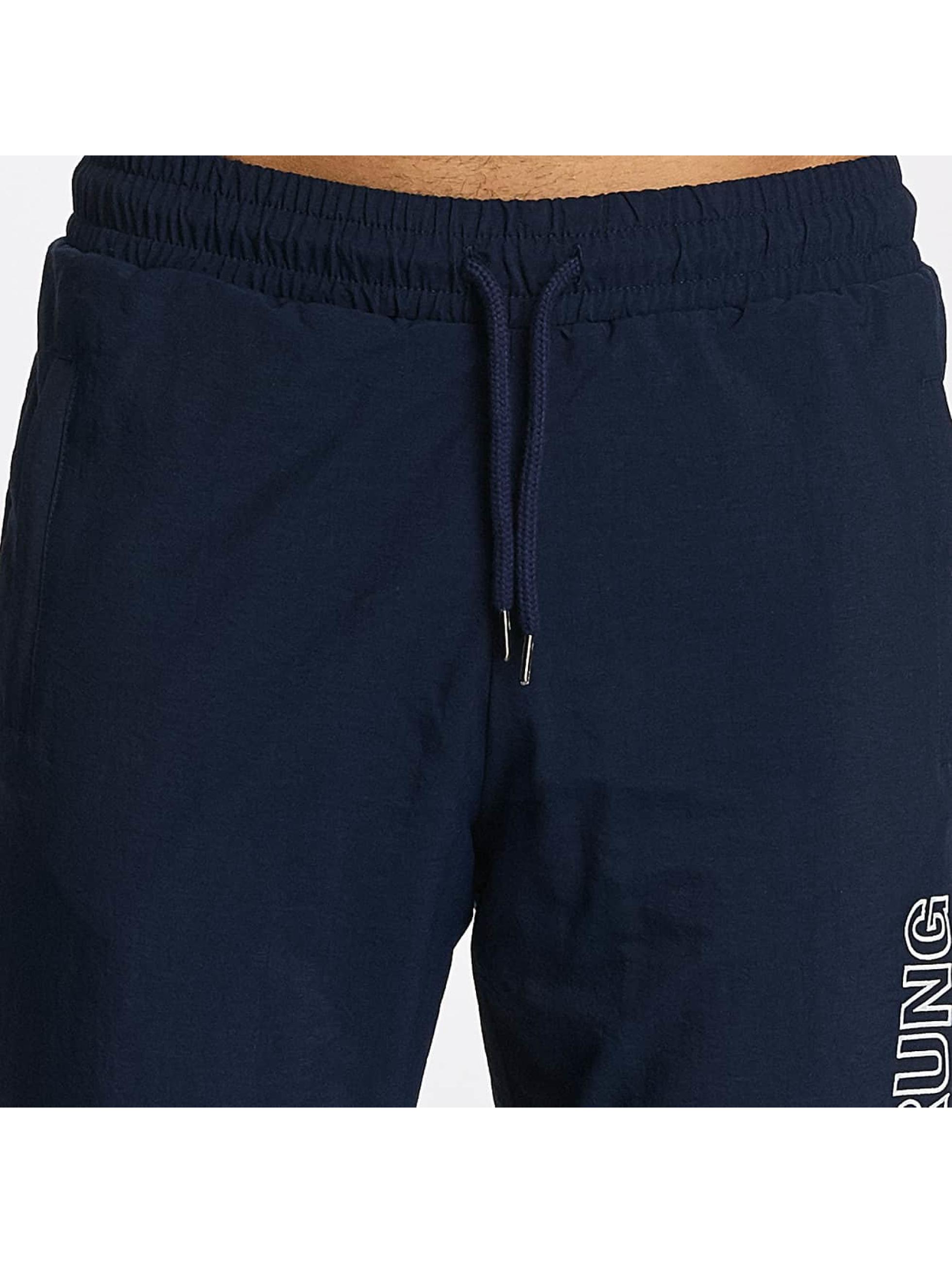 Wrung Division Sweat Pant Jam blue