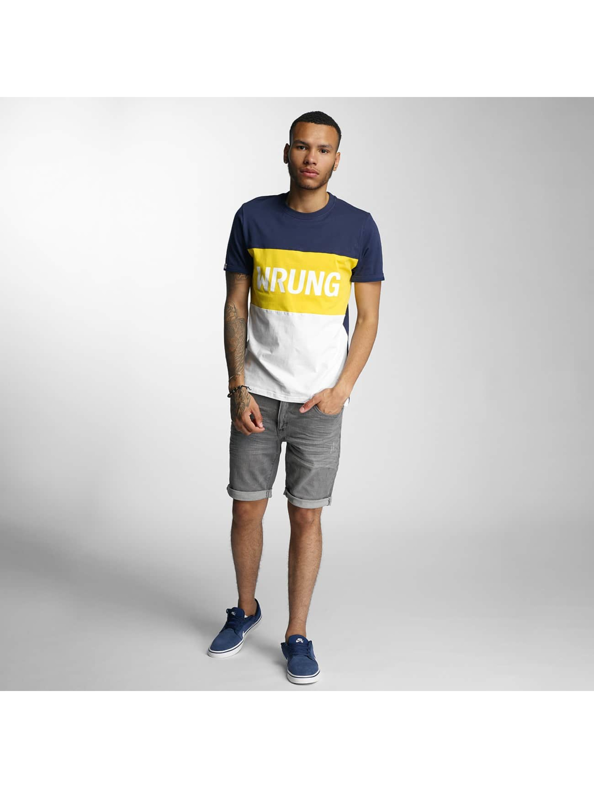 Wrung Division T-Shirt Russell white