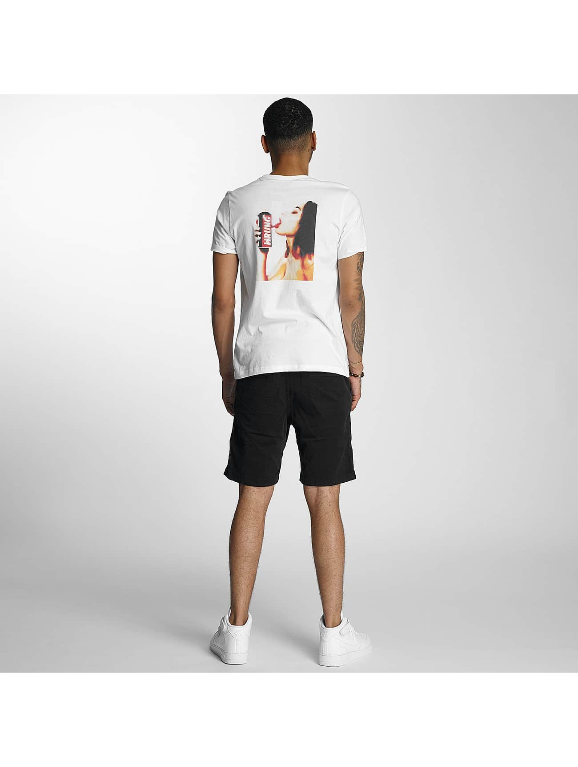 Wrung Division T-Shirt Censored white