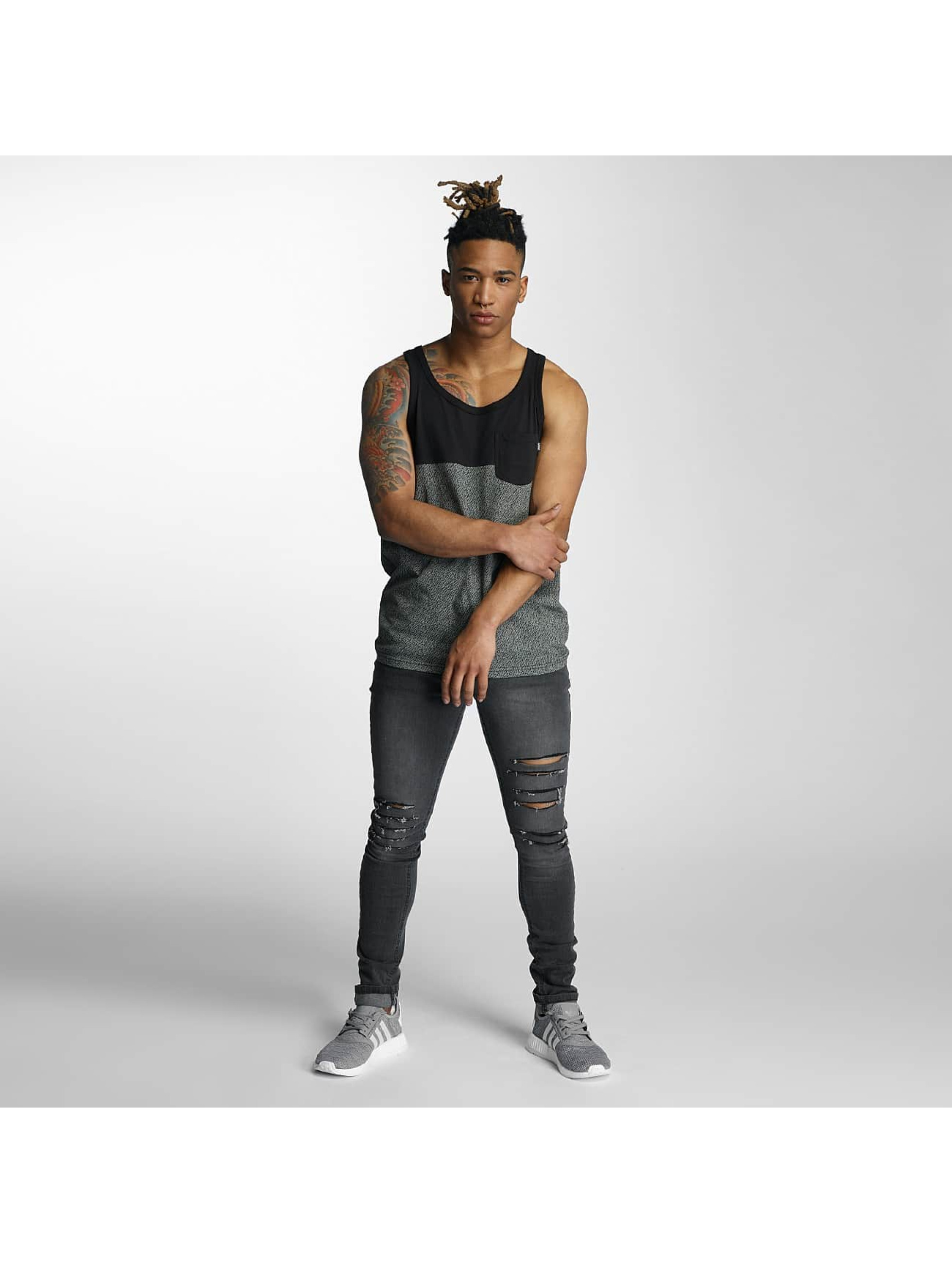 Wrung Division Tank Tops Yezz gray