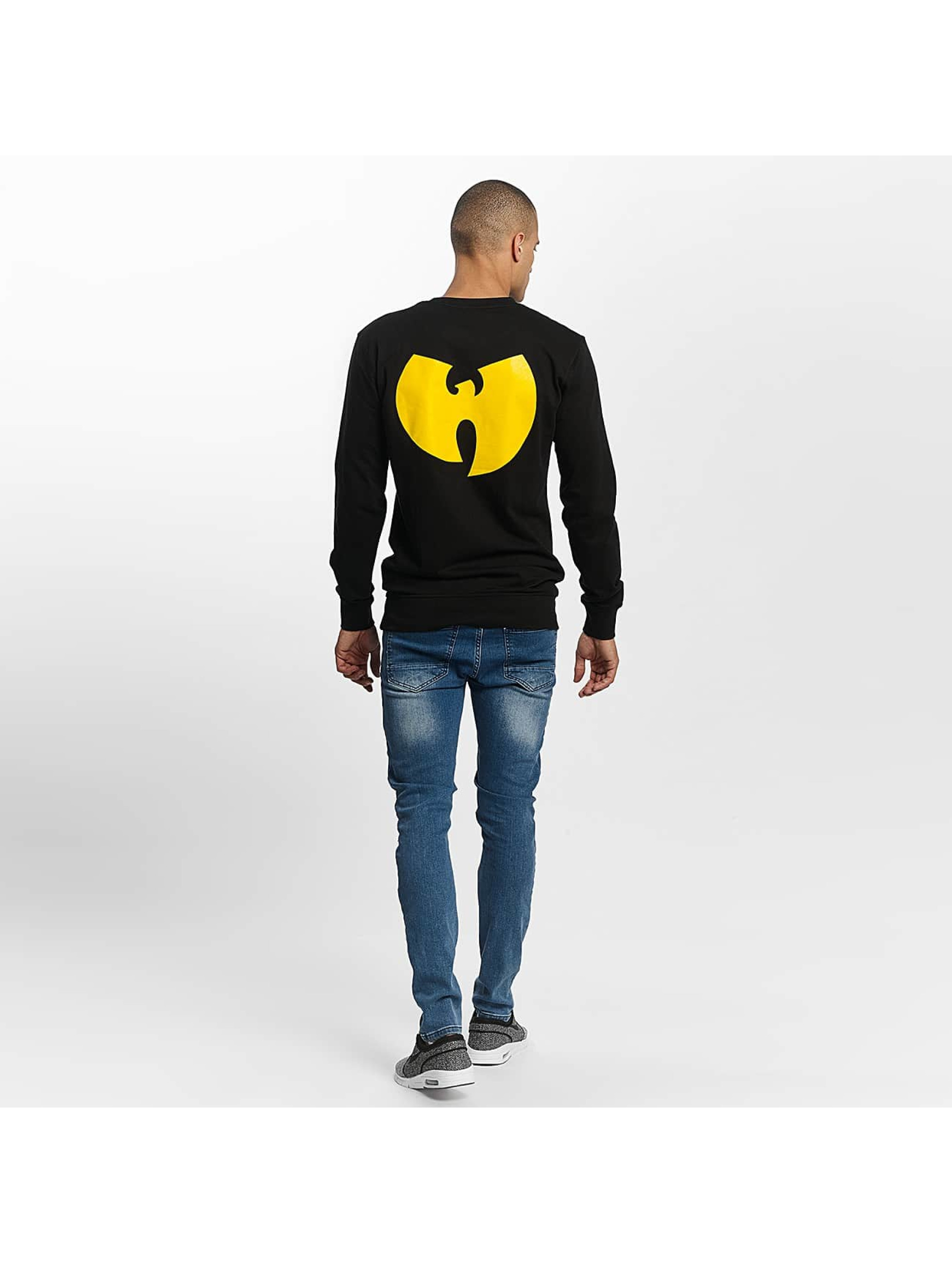 Wu-Tang Pullover Front-Back black