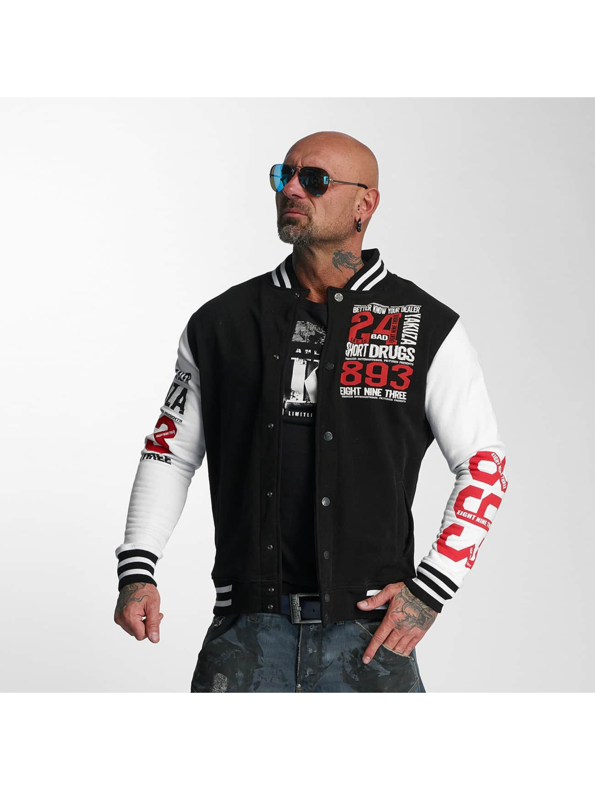 Yakuza College Jacket Know Your Dealer black
