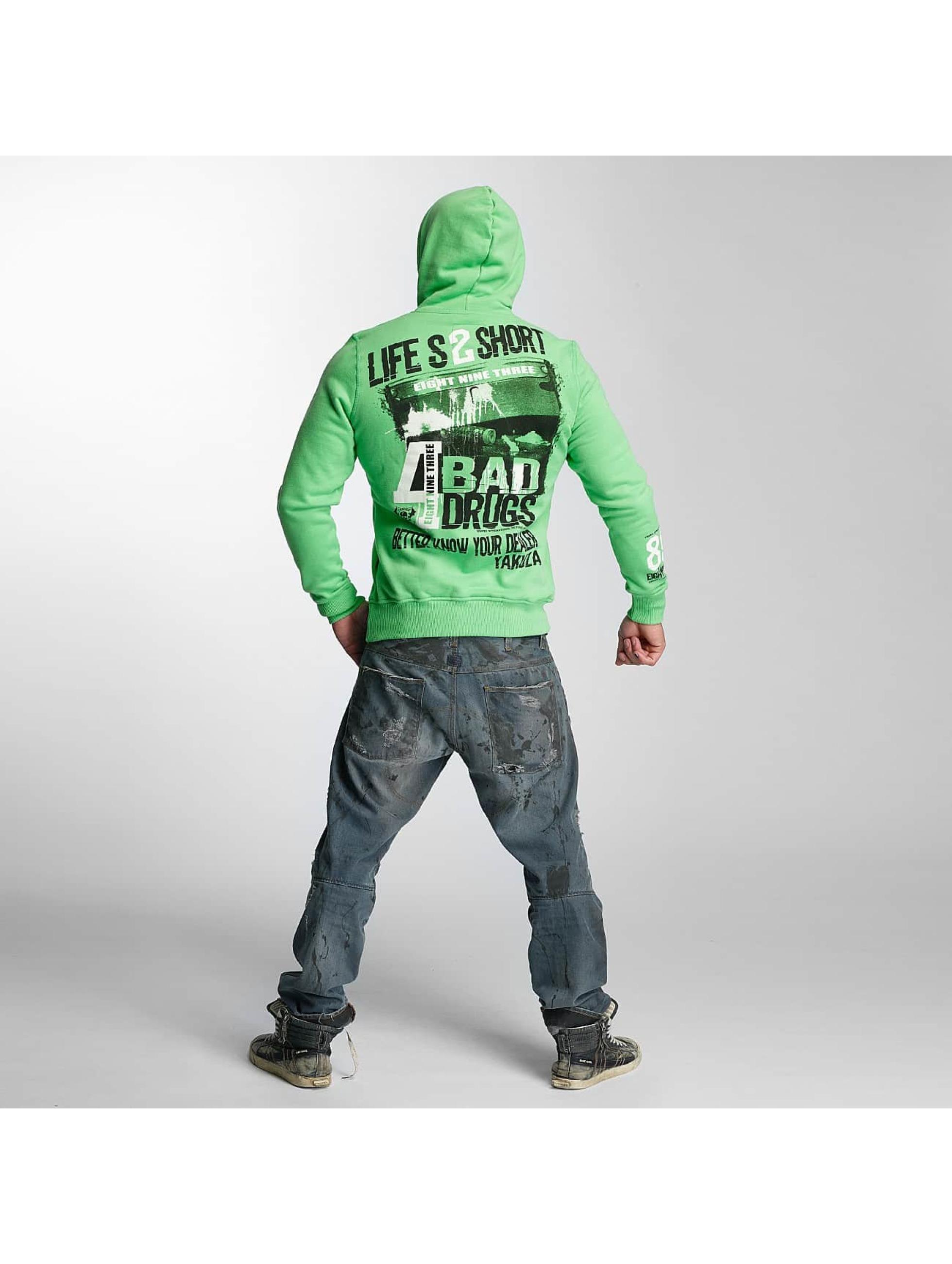 Yakuza Hoodie Know Your Dealer green