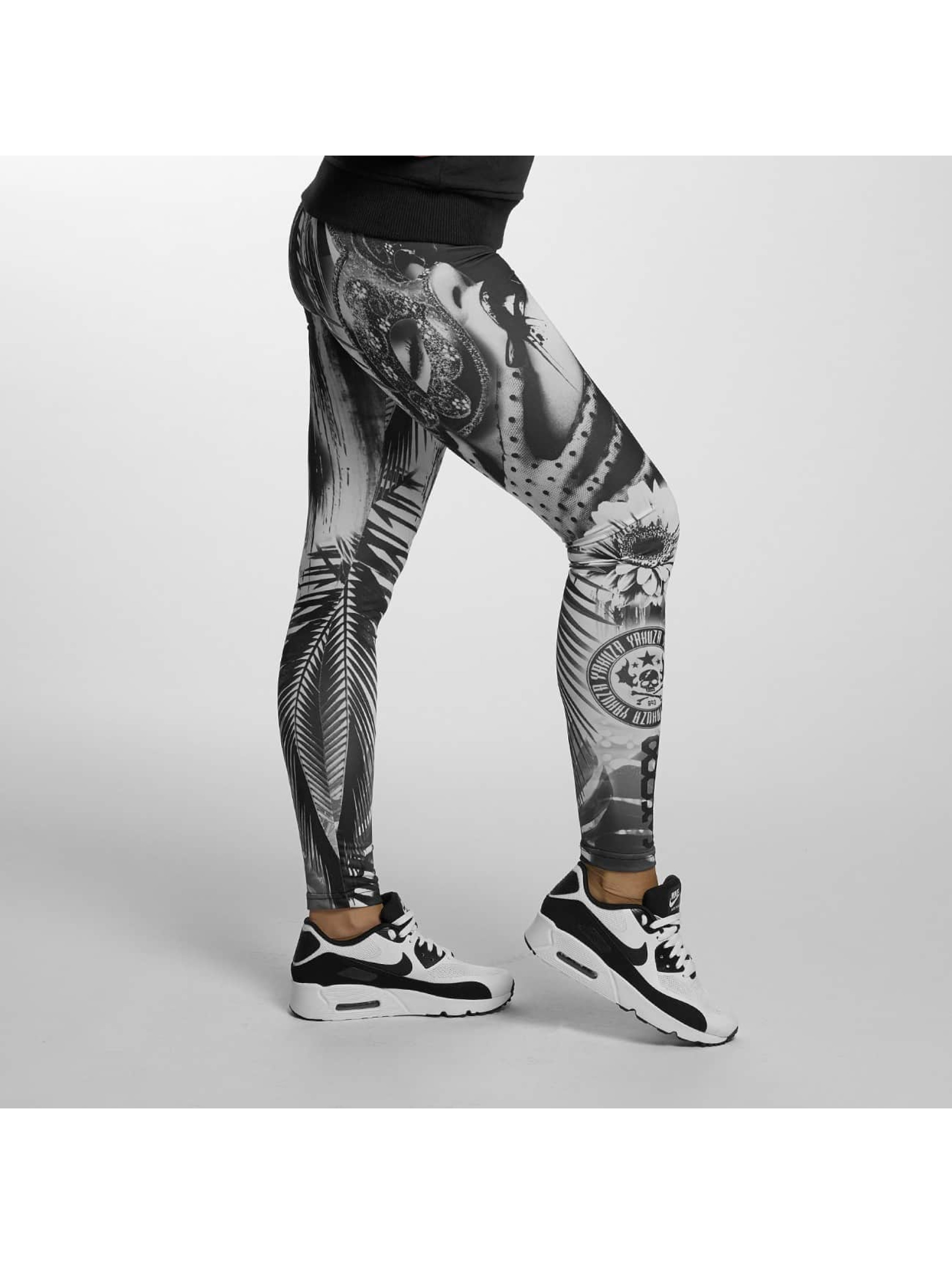 Yakuza Leggings/Treggings Mask On black