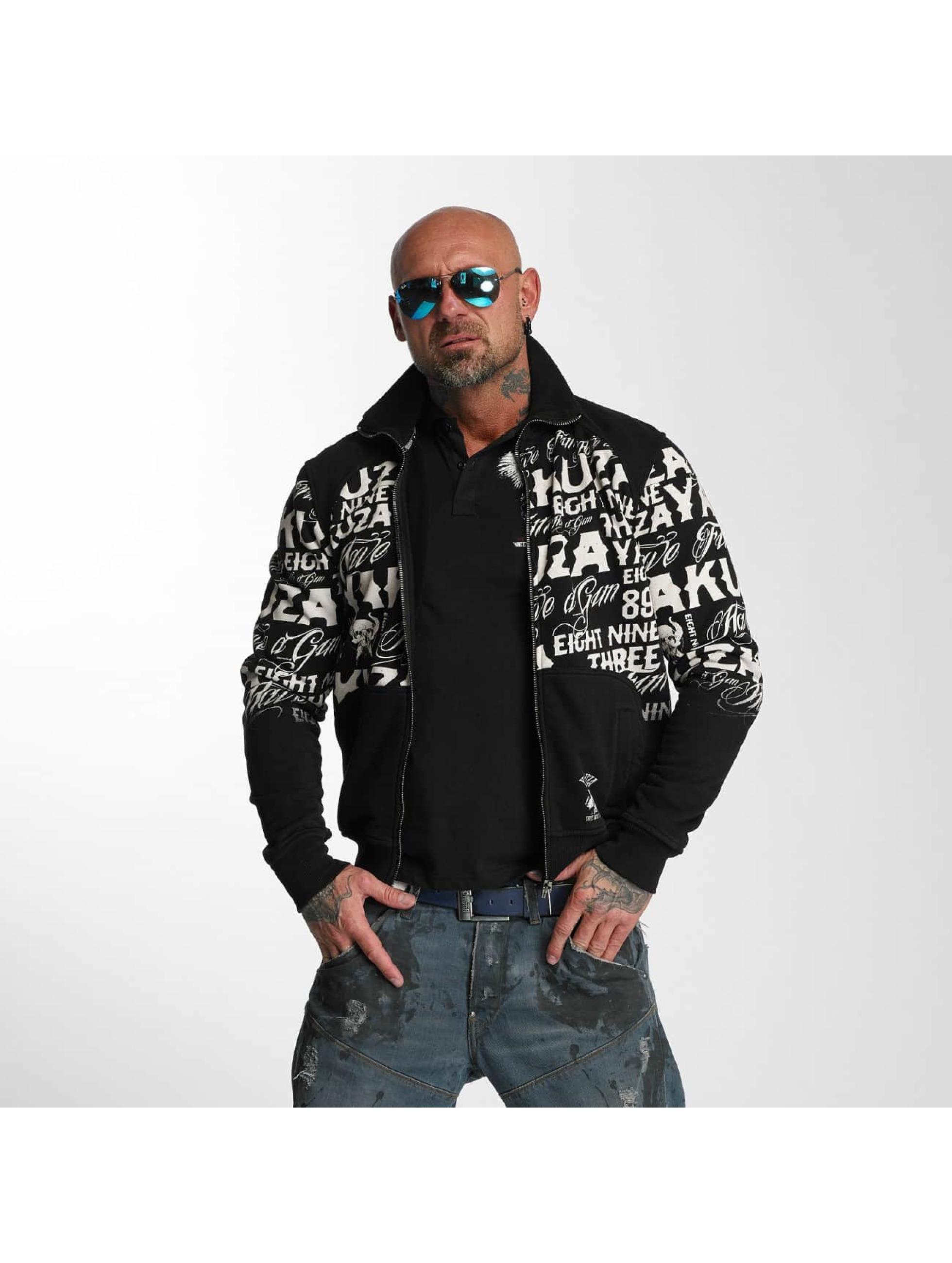Yakuza Lightweight Jacket Allover Label black