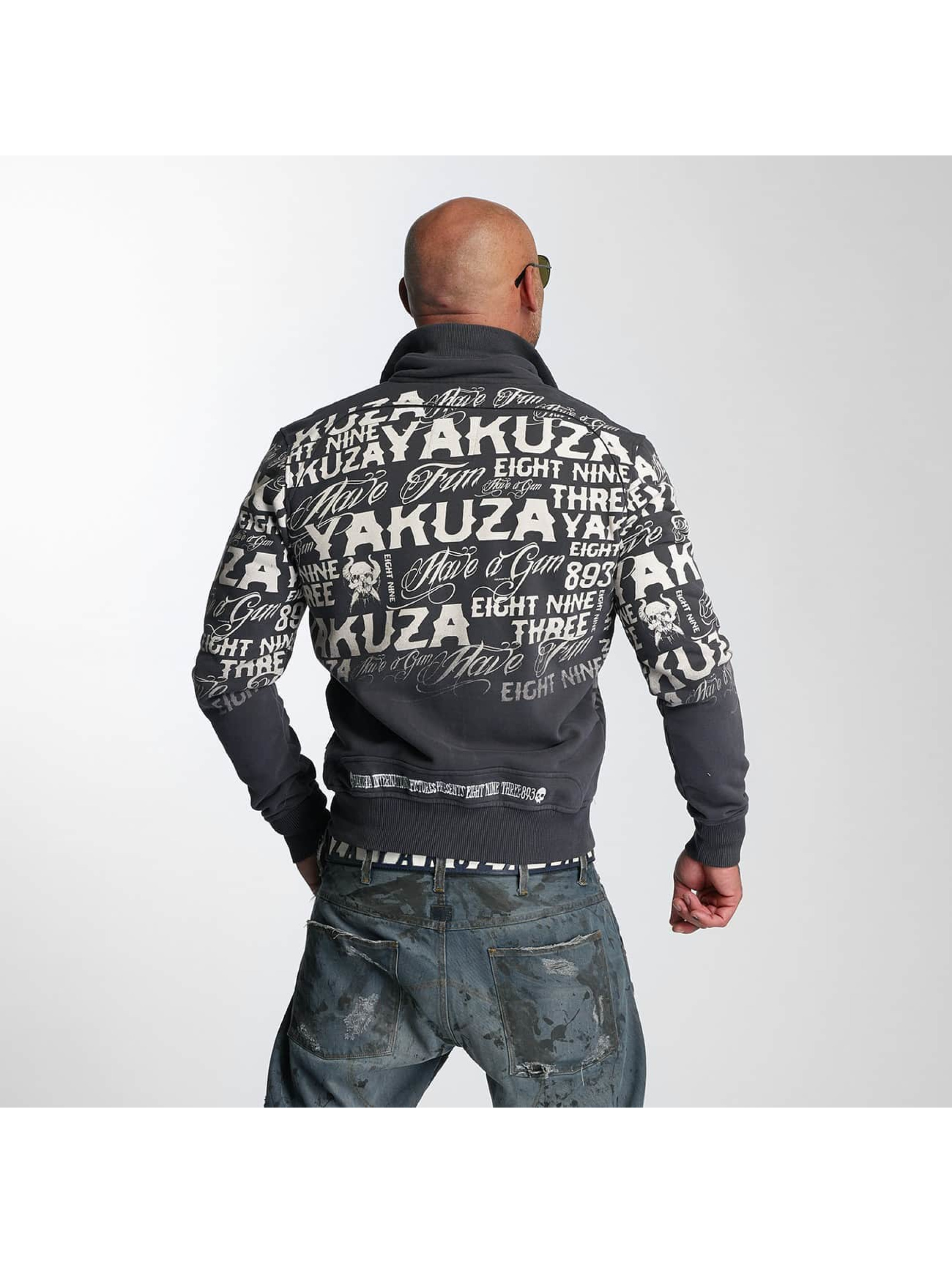 Yakuza Lightweight Jacket Allover Label blue