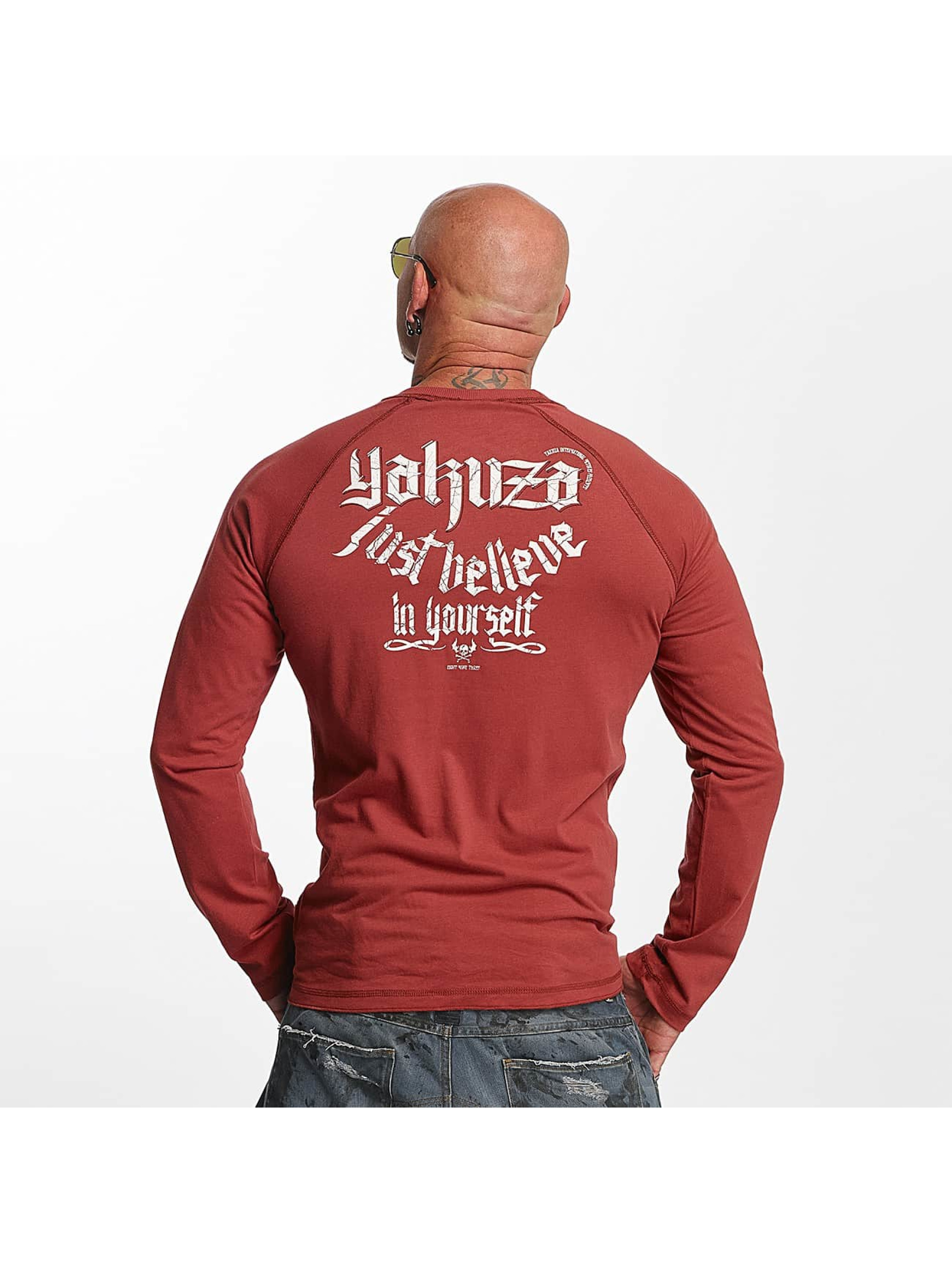 Yakuza Longsleeve Just Believe red