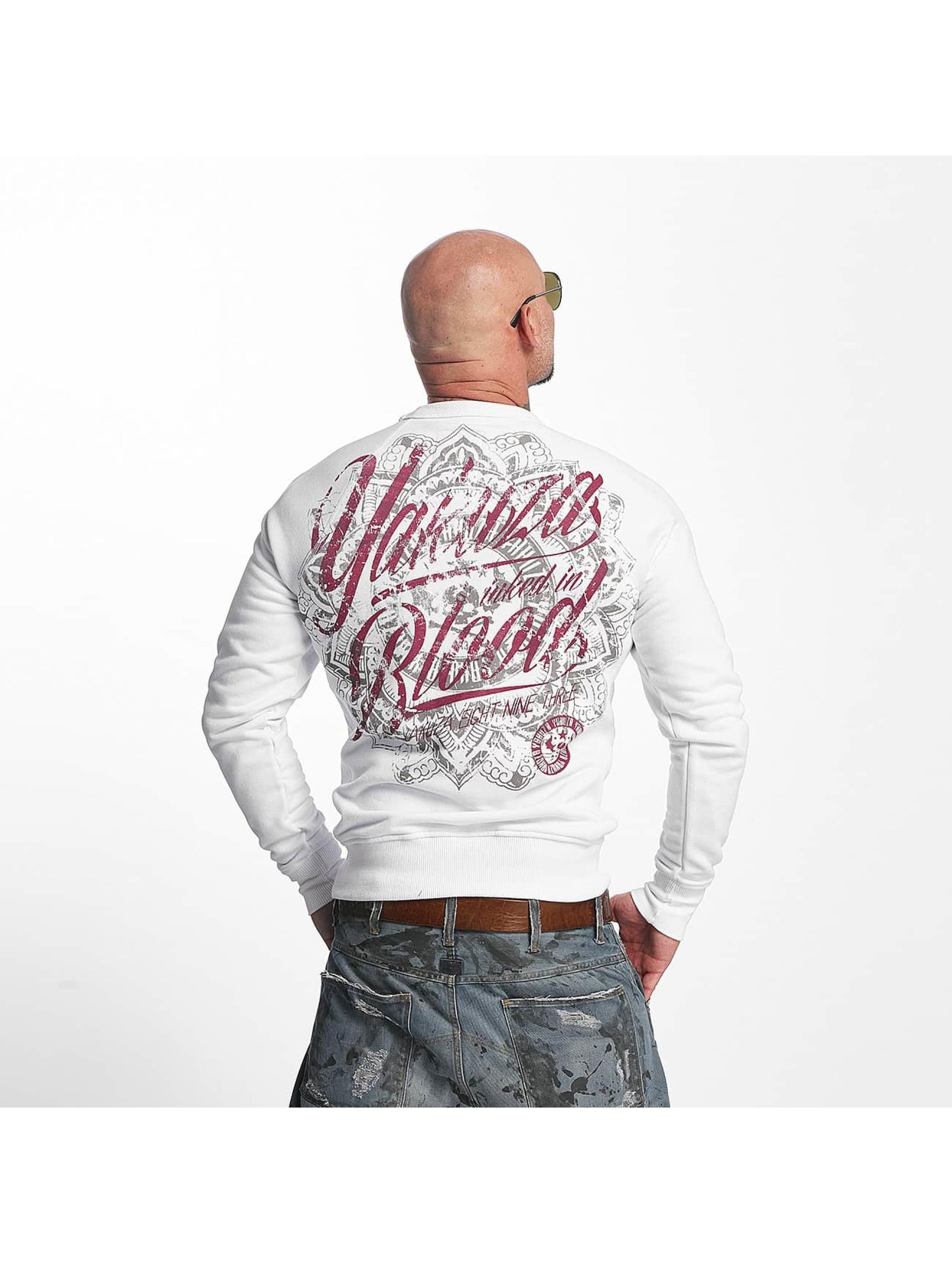 Yakuza Pullover Inked In Blood white