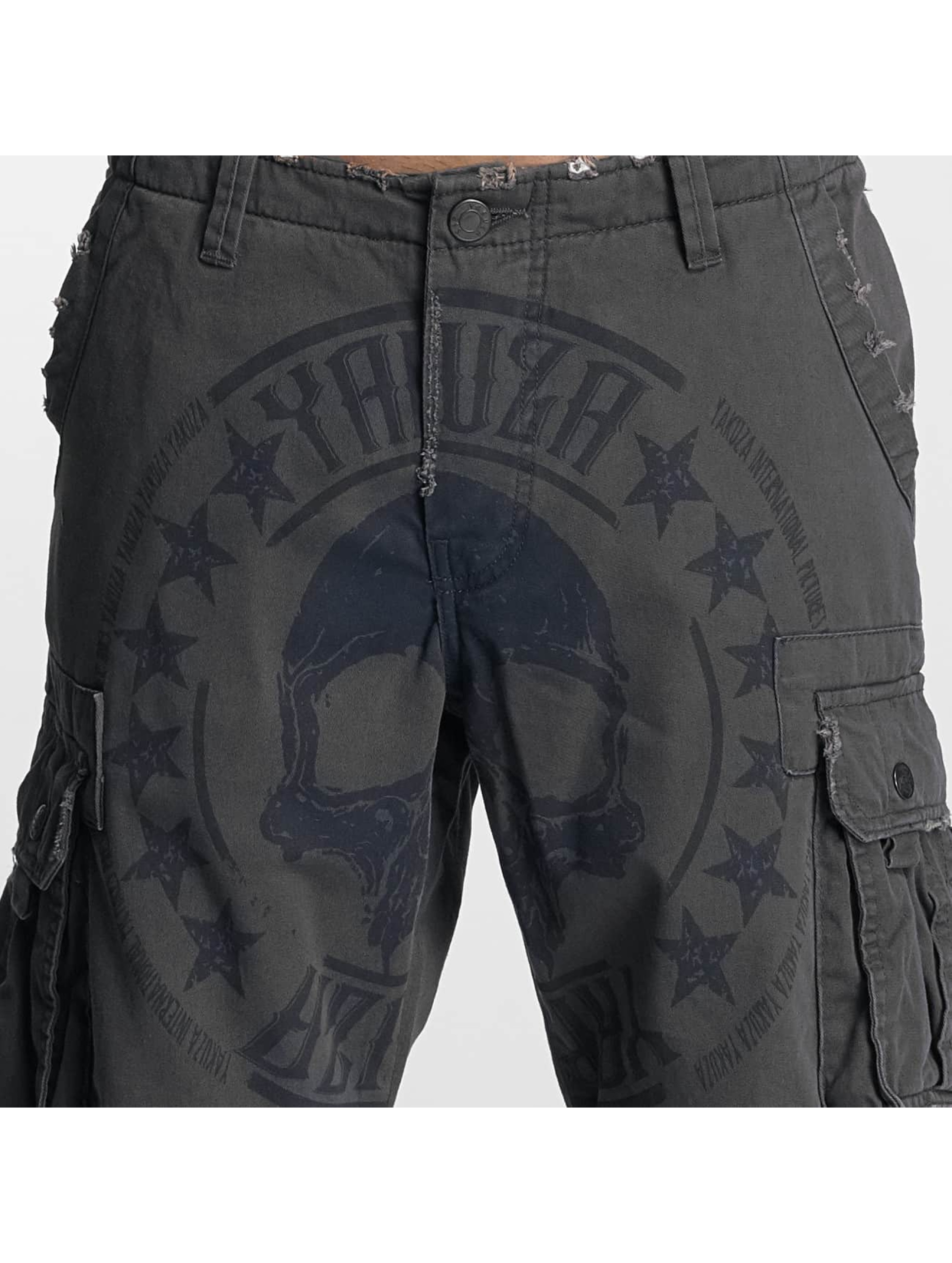Yakuza Short Skull Label blue