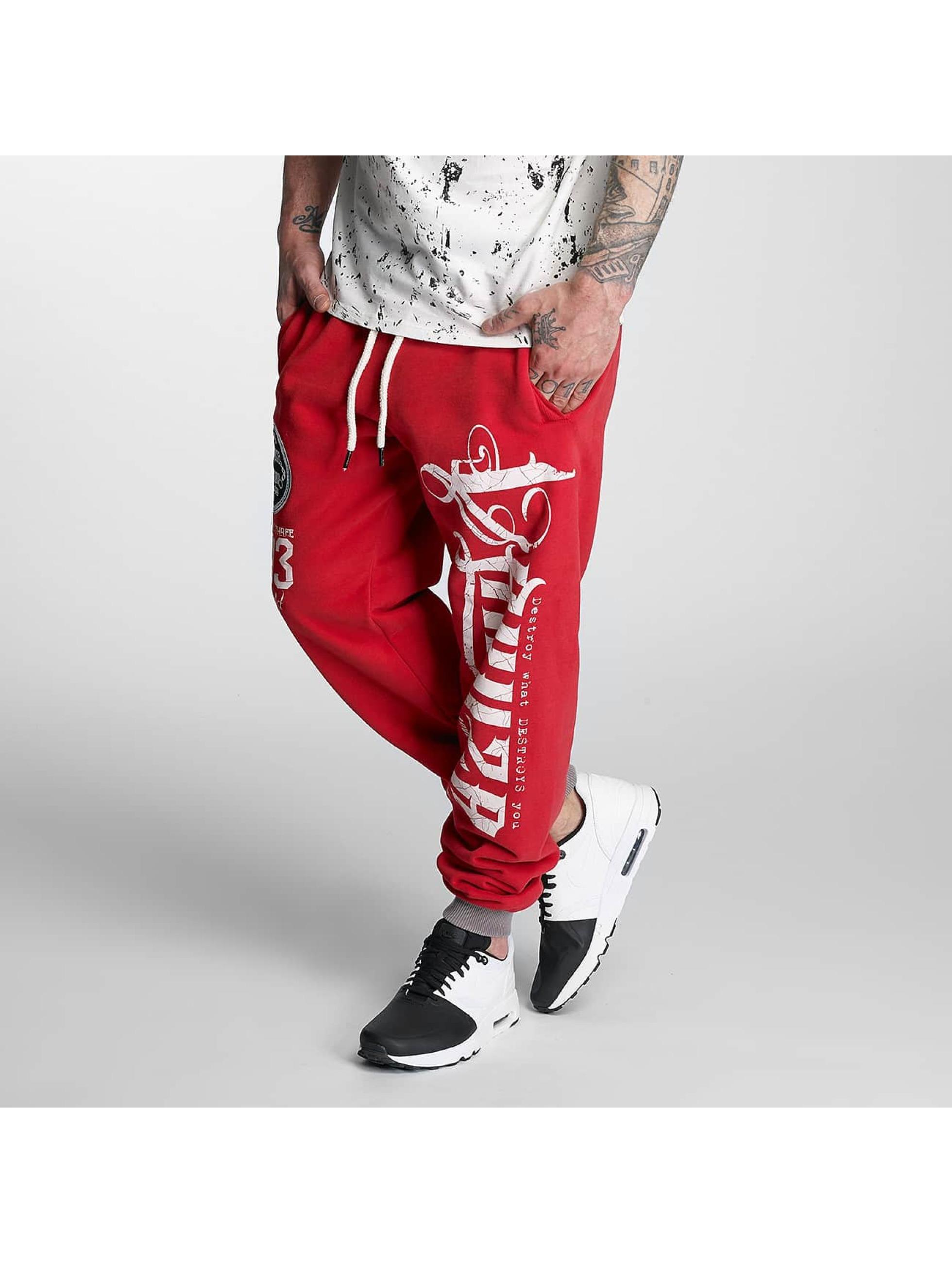 Yakuza Sweat Pant 2Face red