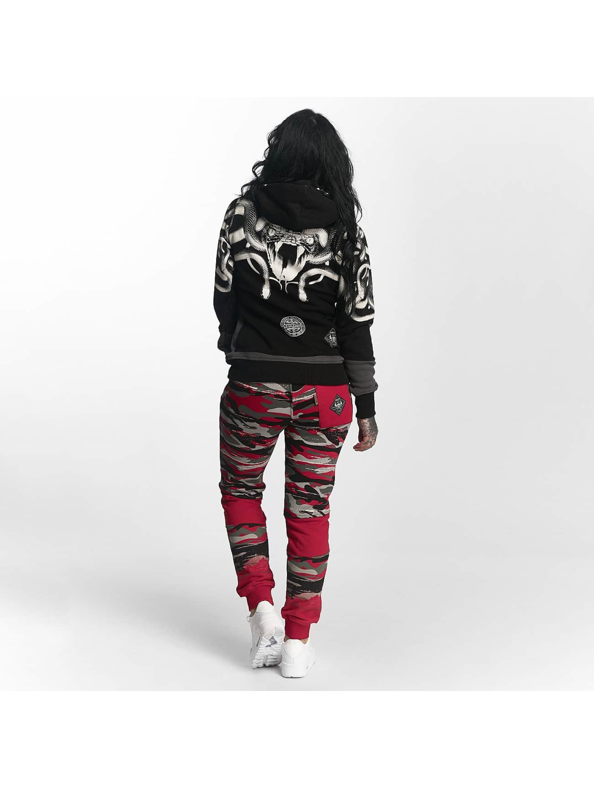 Yakuza Sweat Pant Military Lady red