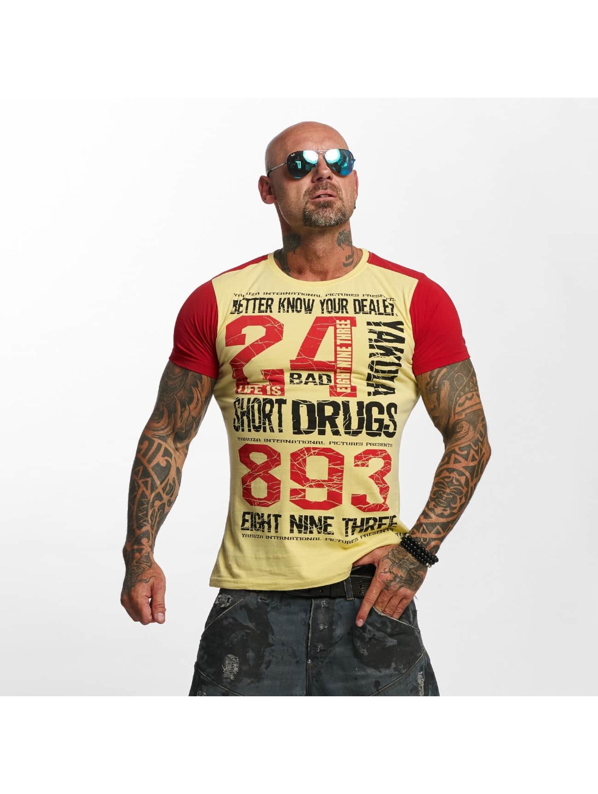 Yakuza T-Shirt Know Your Dealer beige