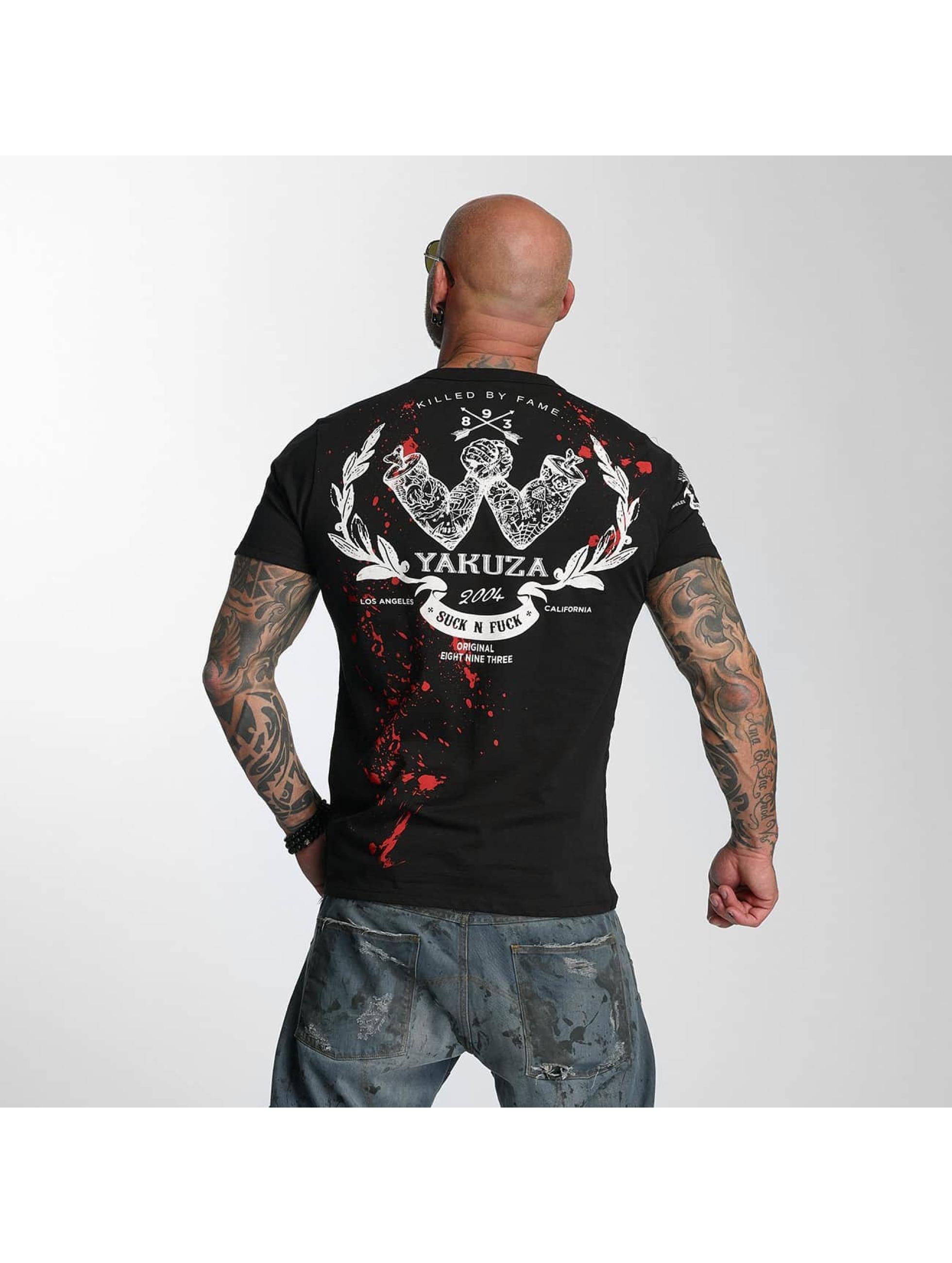 Yakuza T-Shirt Killed By Fame black
